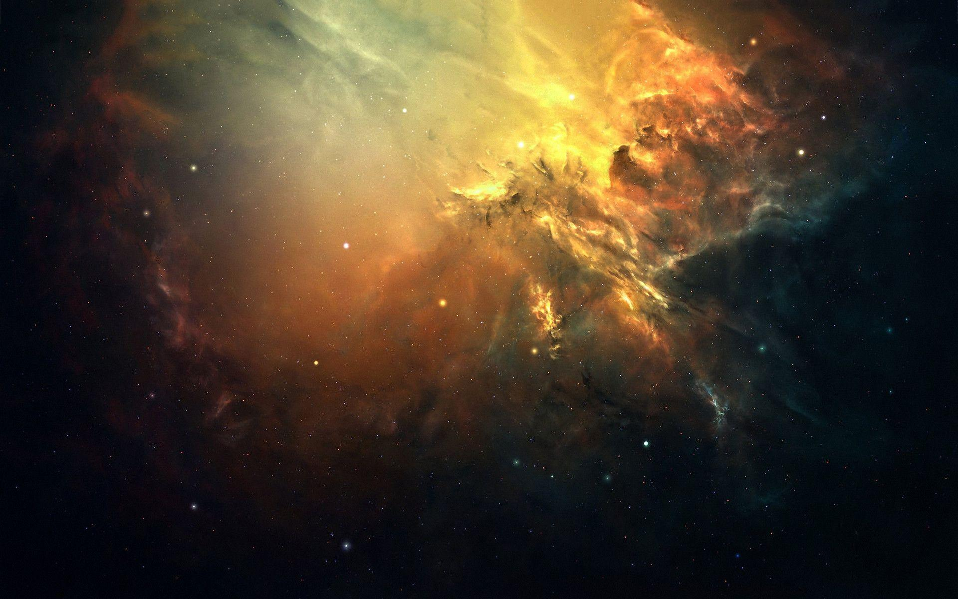 Space star cluster Wallpapers