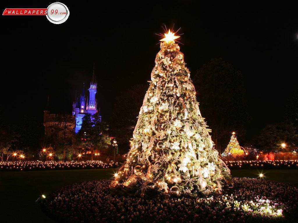 Disney World Christmas Wallpaper