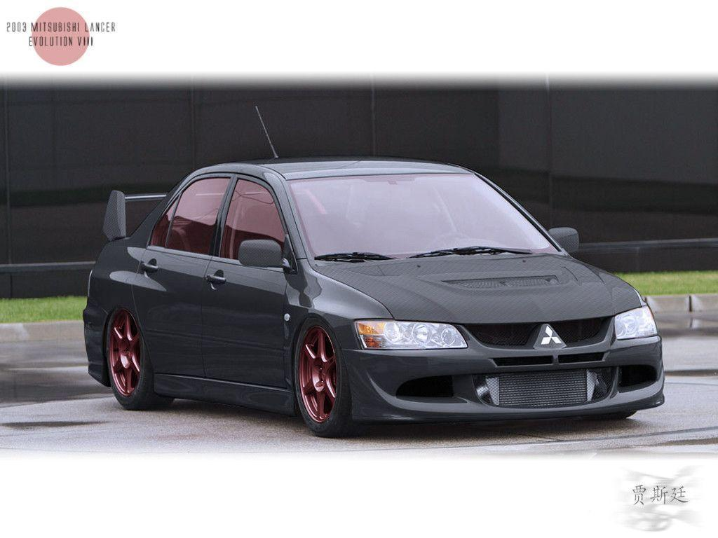 03' Mitsubishi Lancer EVO VIII by LexTalionis502 on DeviantArt