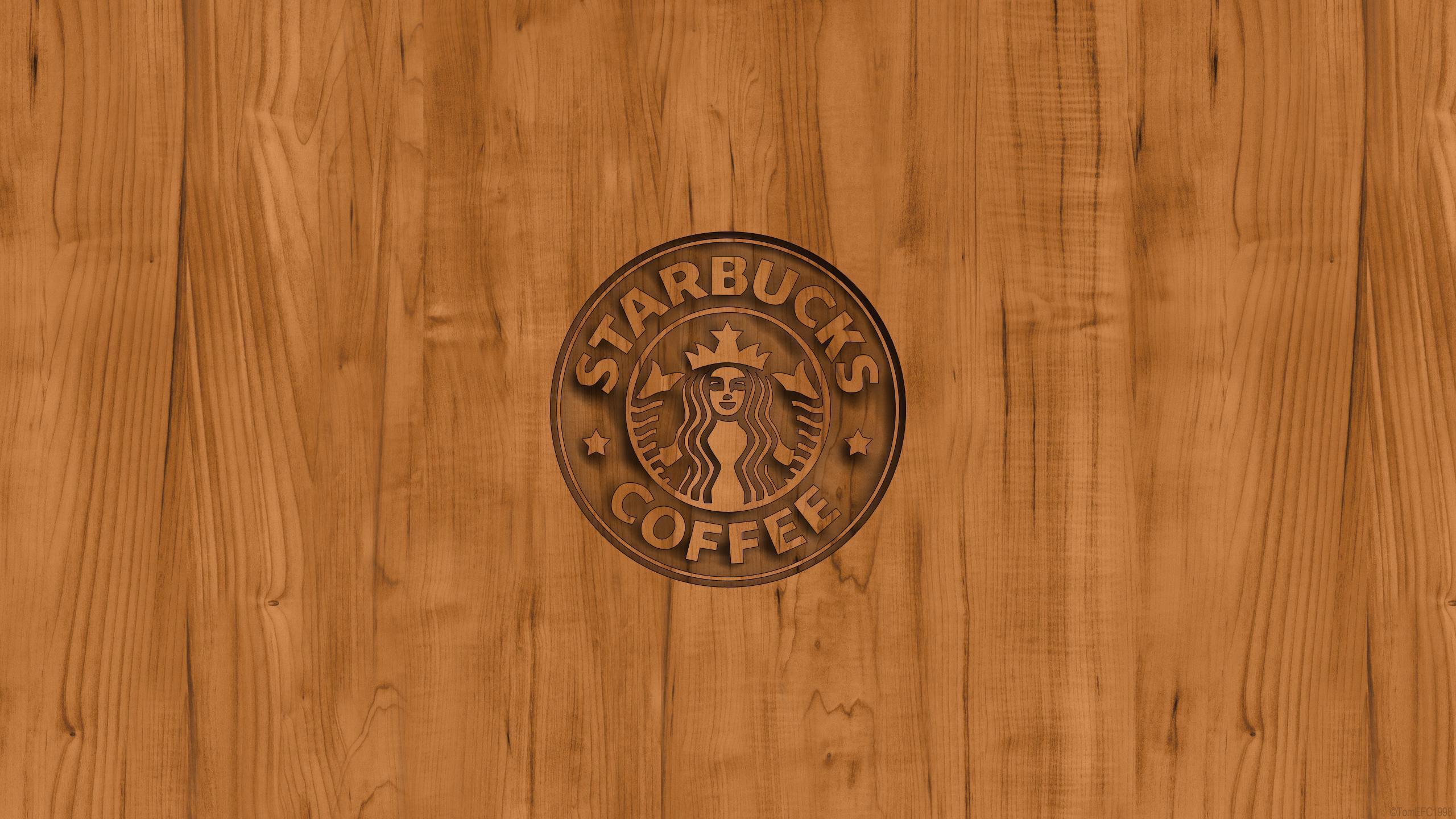 starbucks_coffee_logo_wood_ ...