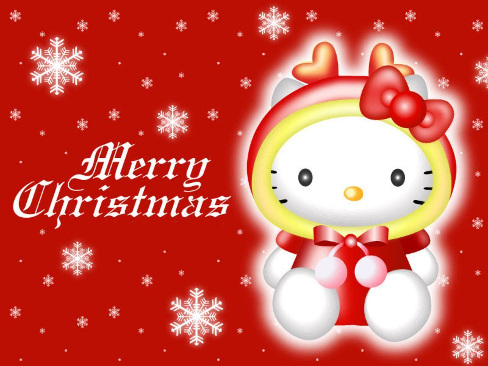 Hello Kitty Winter Wallpapers Wallpaper Cave