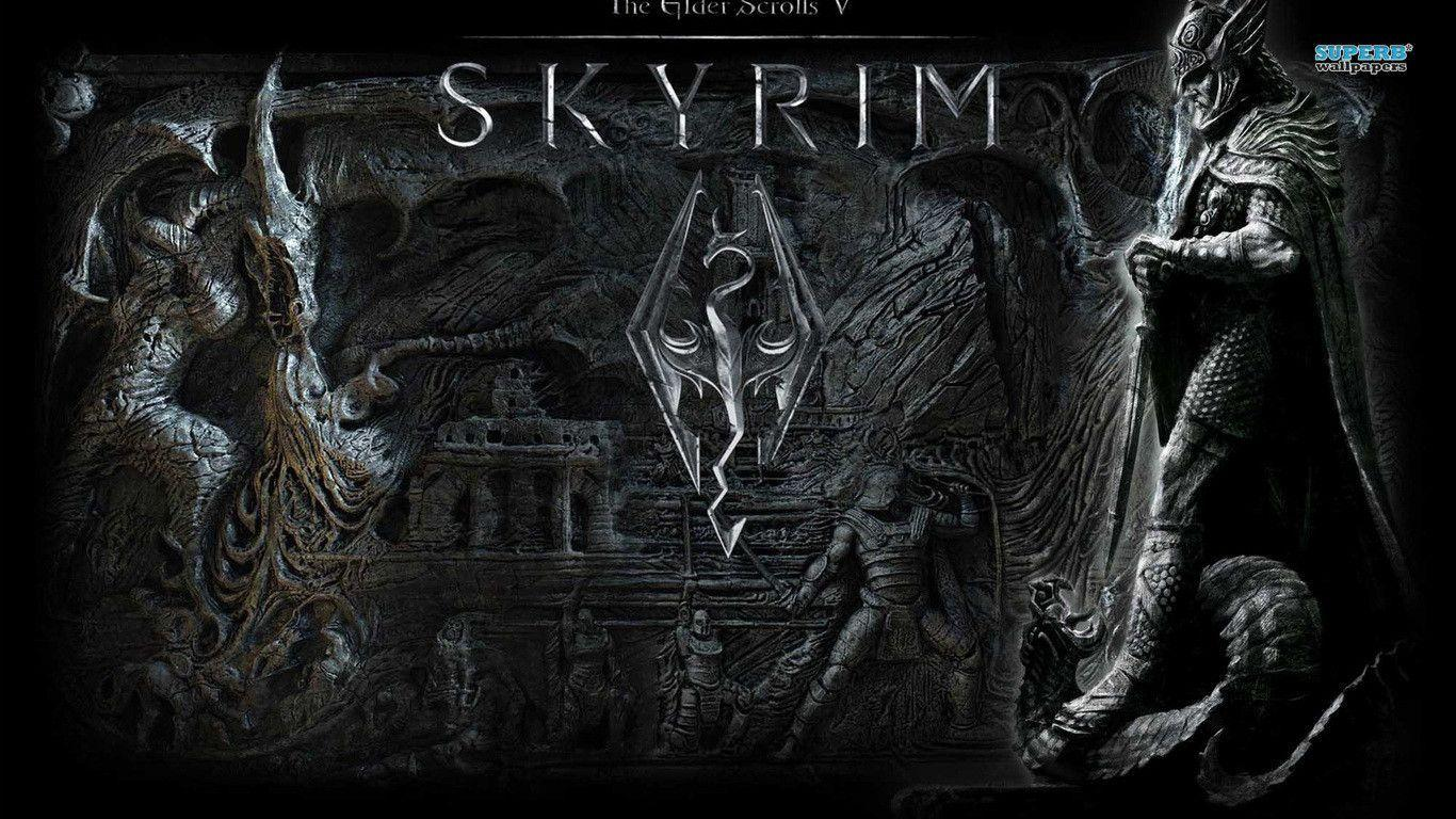 skyrim hd wallpapers 1366x768 - photo #23