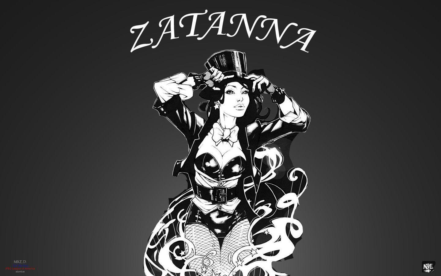 Zatanna by Oliver Nome by Xionice