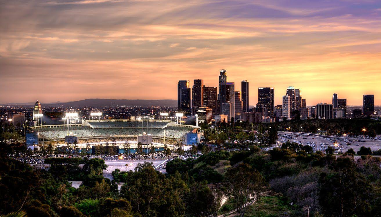 Image For > La Dodgers Stadium Wallpapers