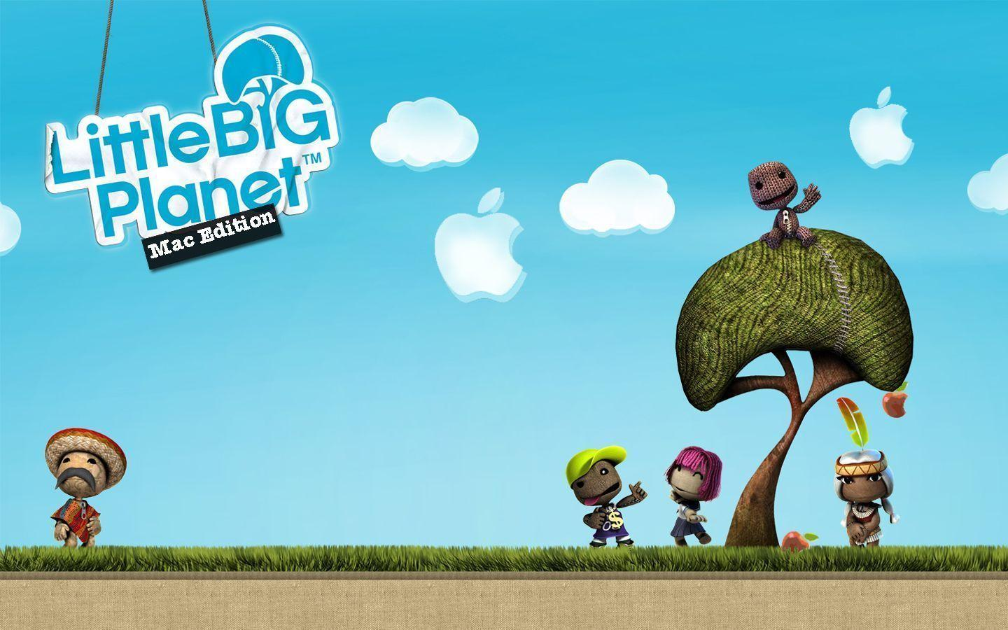 Apple Little Big Planet Wallpapers by LindsayCookie