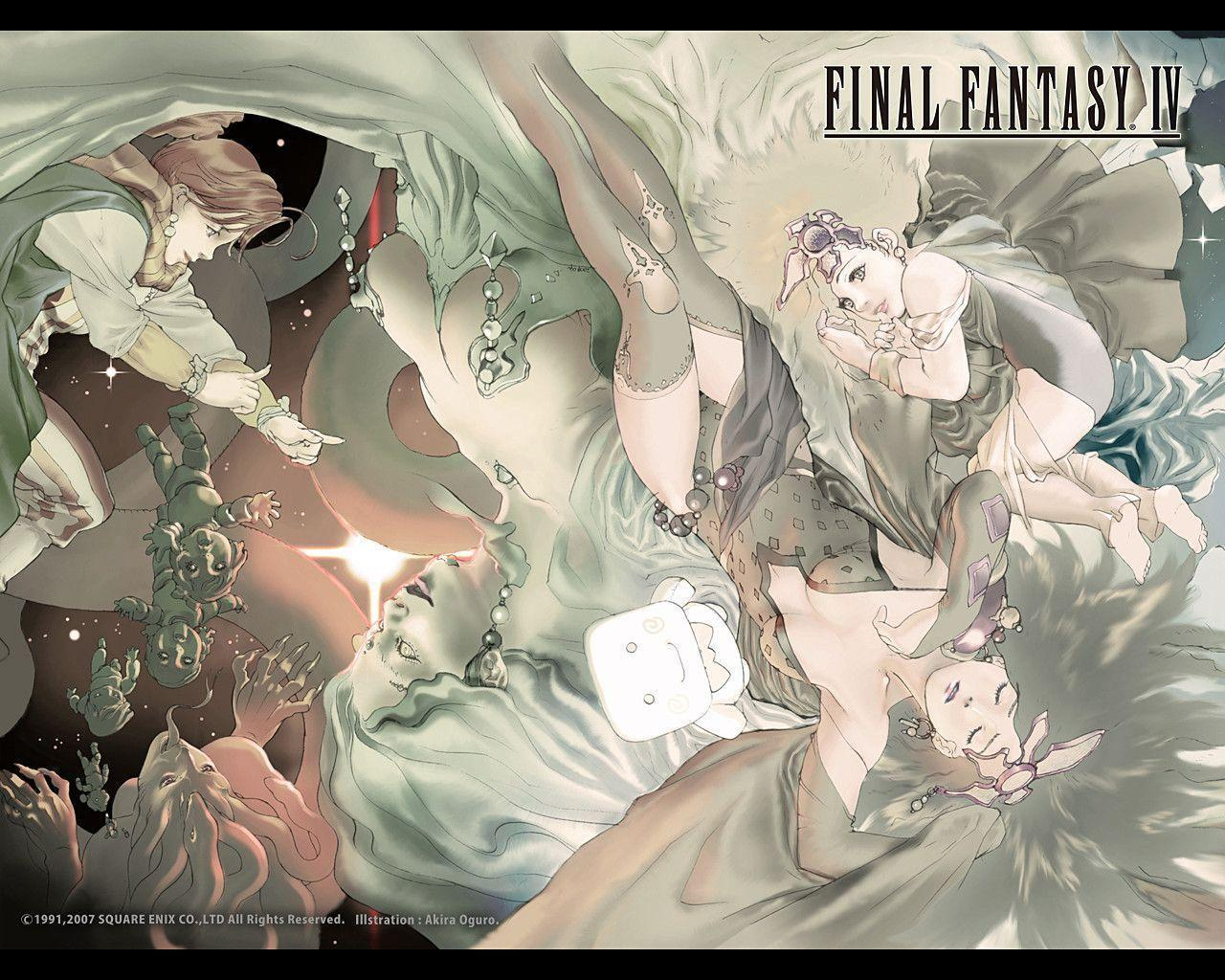 Image For > Final Fantasy 4 Rydia Wallpapers