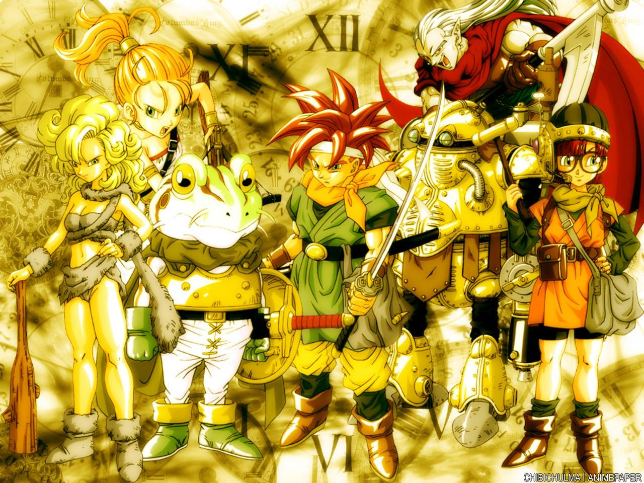 Image For > Chrono Trigger Art Wallpapers