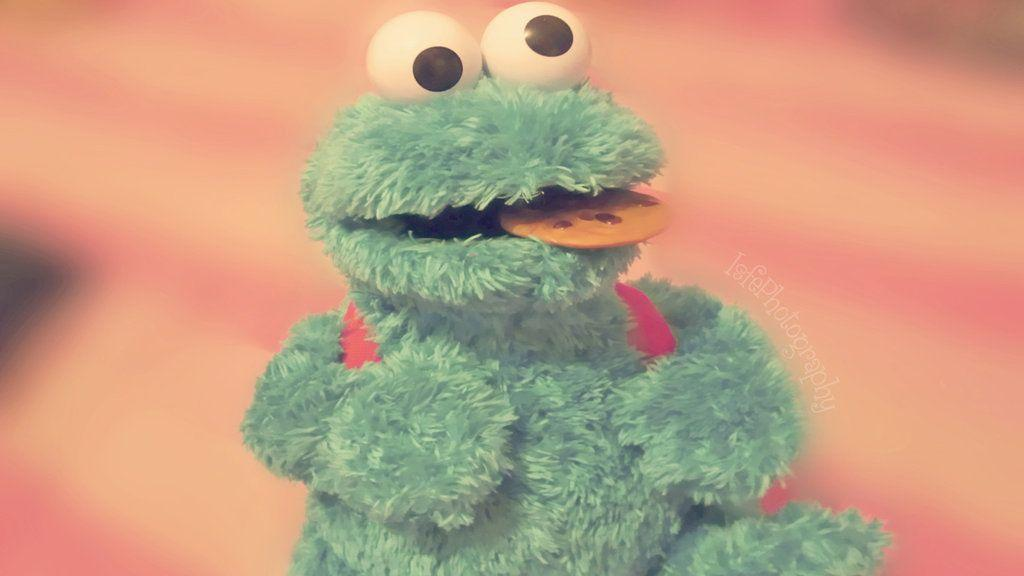 Cute cookie monster wallpapers wallpaper cave - Cookie monster wallpaper ...