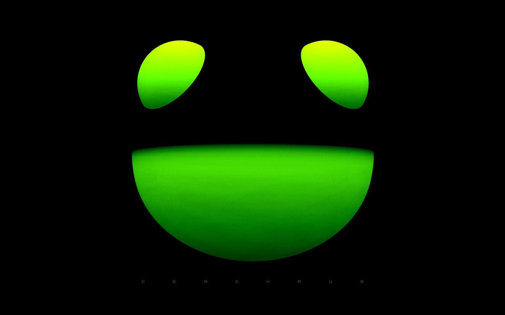 deadmau5 green wallpaper - photo #17
