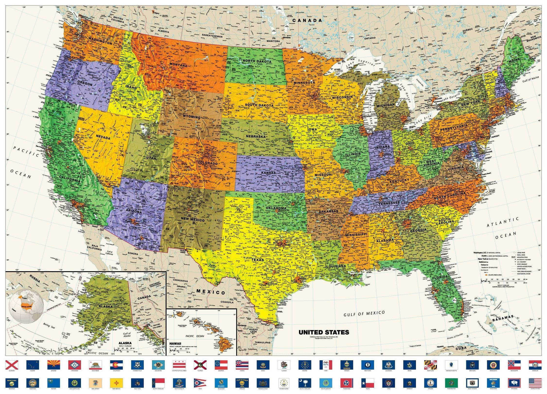 US Map Wallpapers