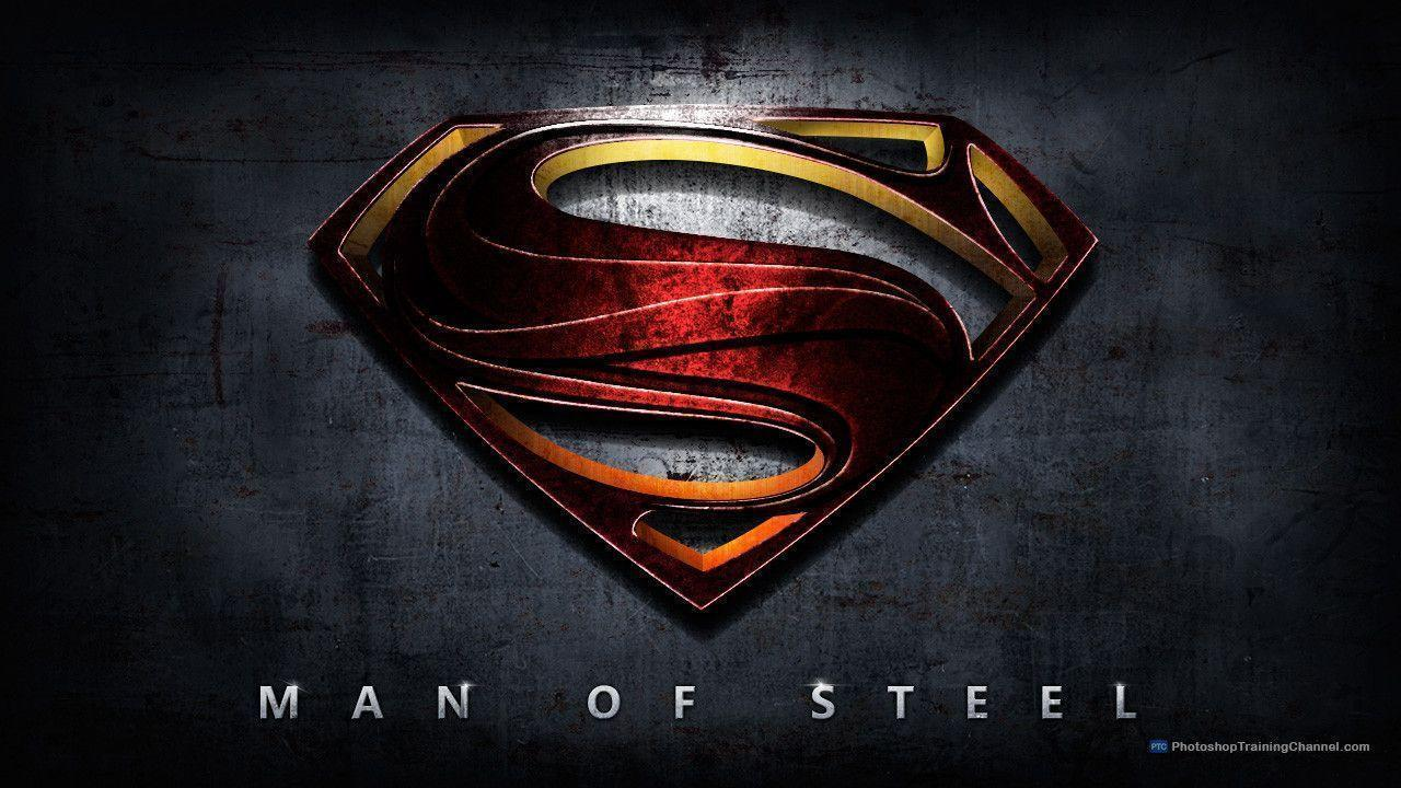 Man Of Steel Superman Logo (id: 51805) | WallPho.com