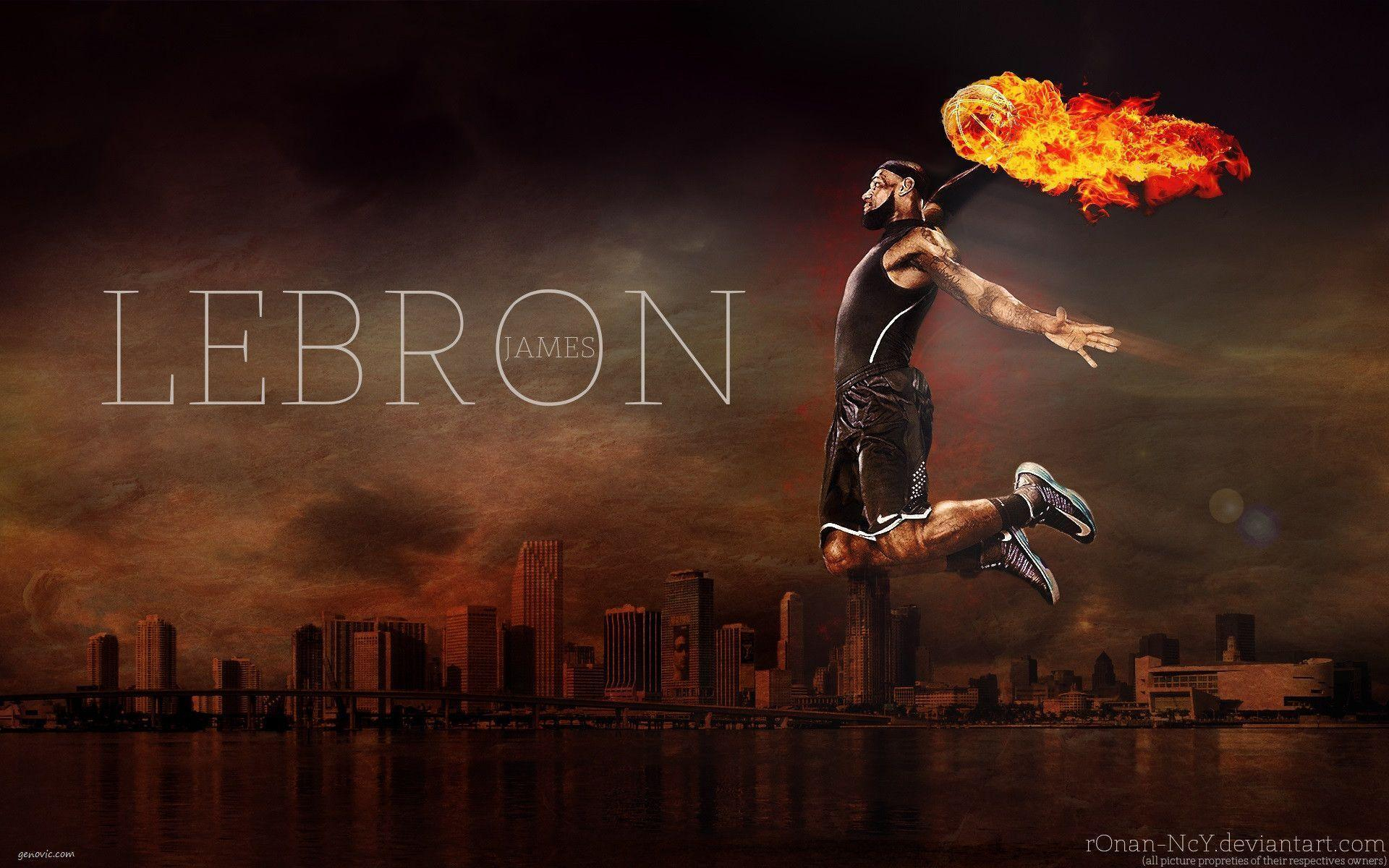 Cool Lebron James Wallpapers Dunk HD Wallpapers