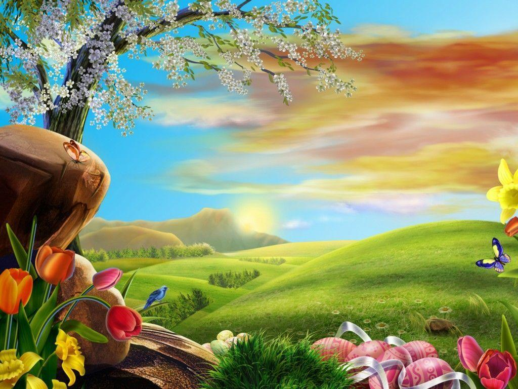 Anime Scenery for Easter Wallpapers - HD Wallpapers 16327