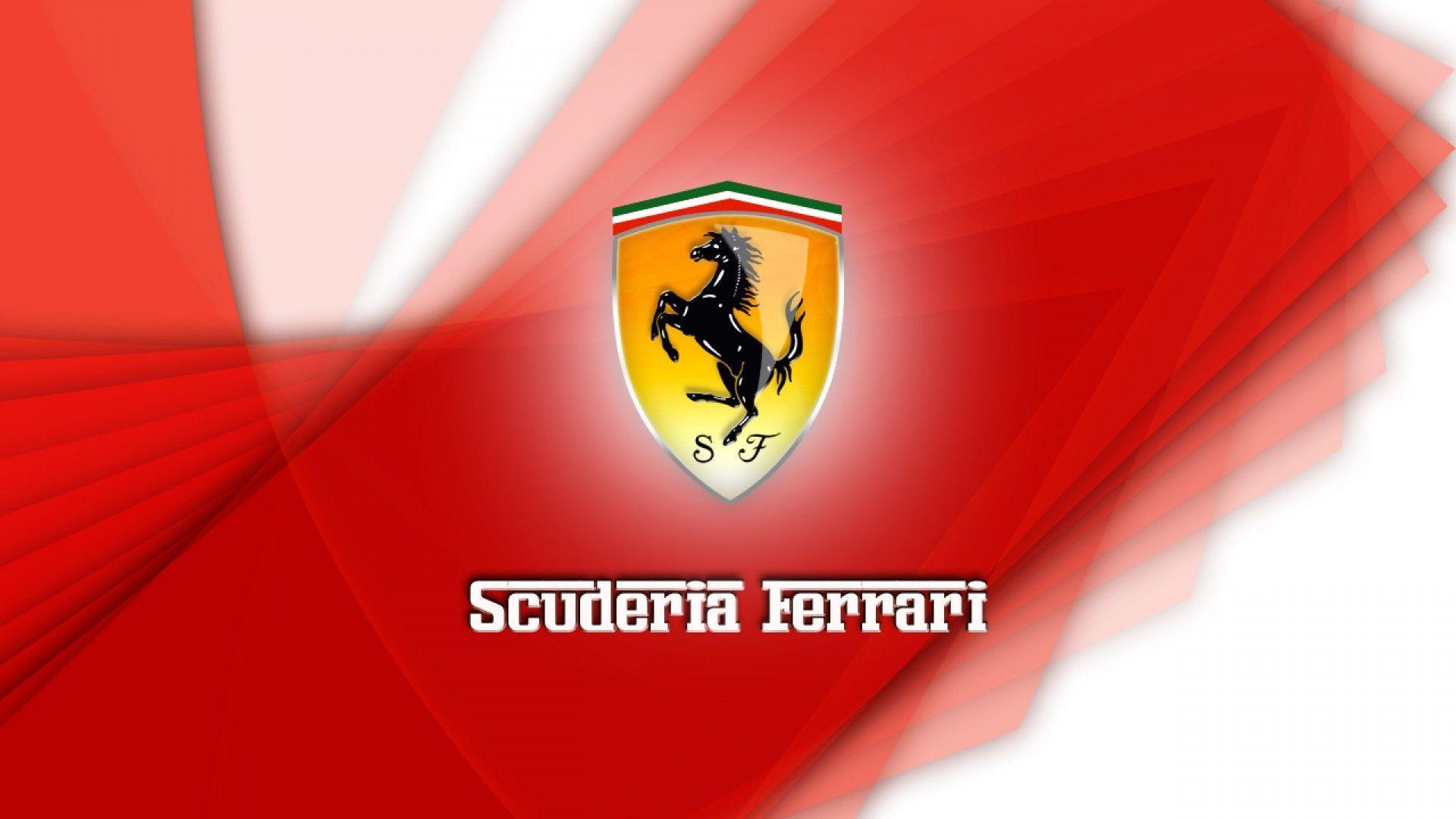 Ferrari Logo Wallpaper - Brand & Logo Wallpapers - Wholles.com