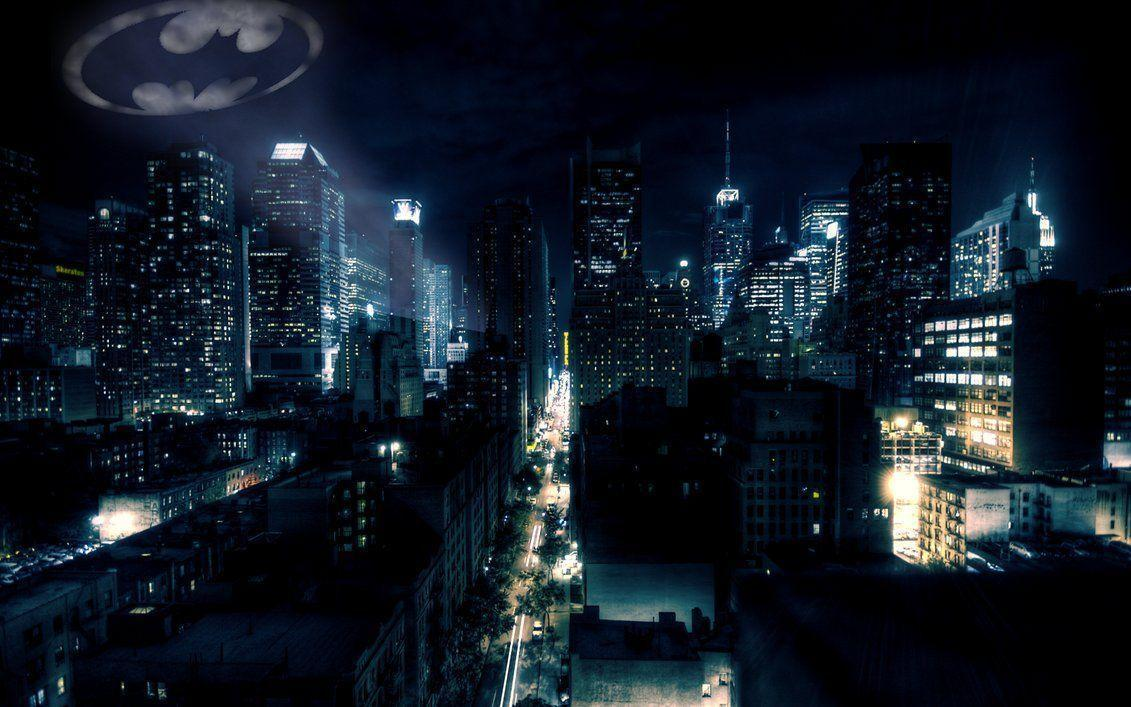 Gotham City - Batman Fan Art (24242266) - Fanpop