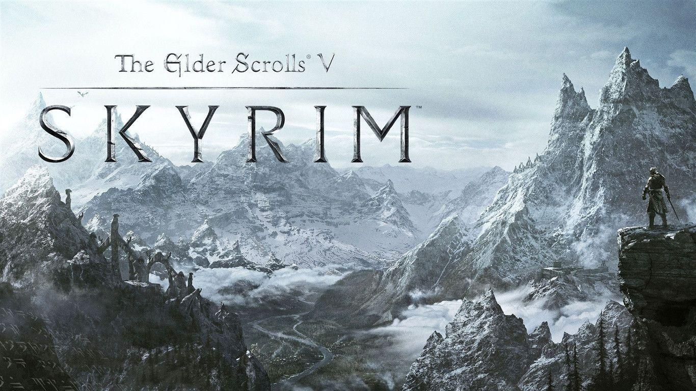 skyrim hd wallpapers 1366x768 - photo #3