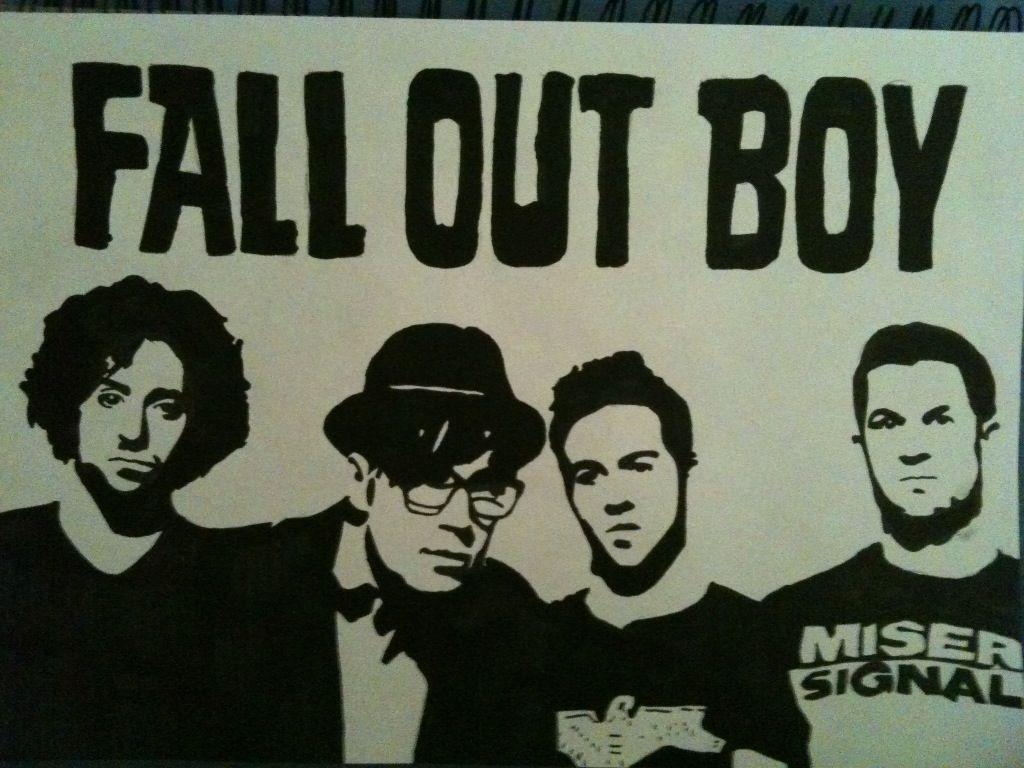 fall out boy wallpapers wallpaper cave