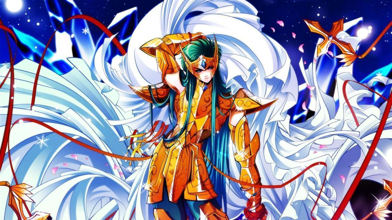 Anime wallpapers 1366x768 wallpaper cave - Saint seiya wallpaper desktop ...