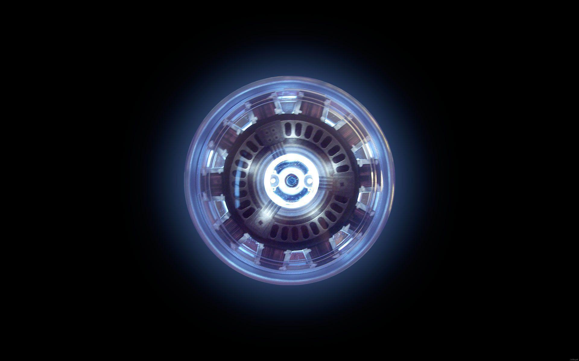 Arc reactor - Iron Man Wallpaper #