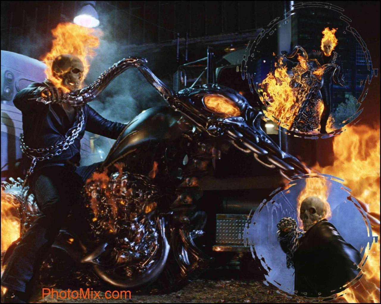 DC Movie Wallpapers » Ghost Rider