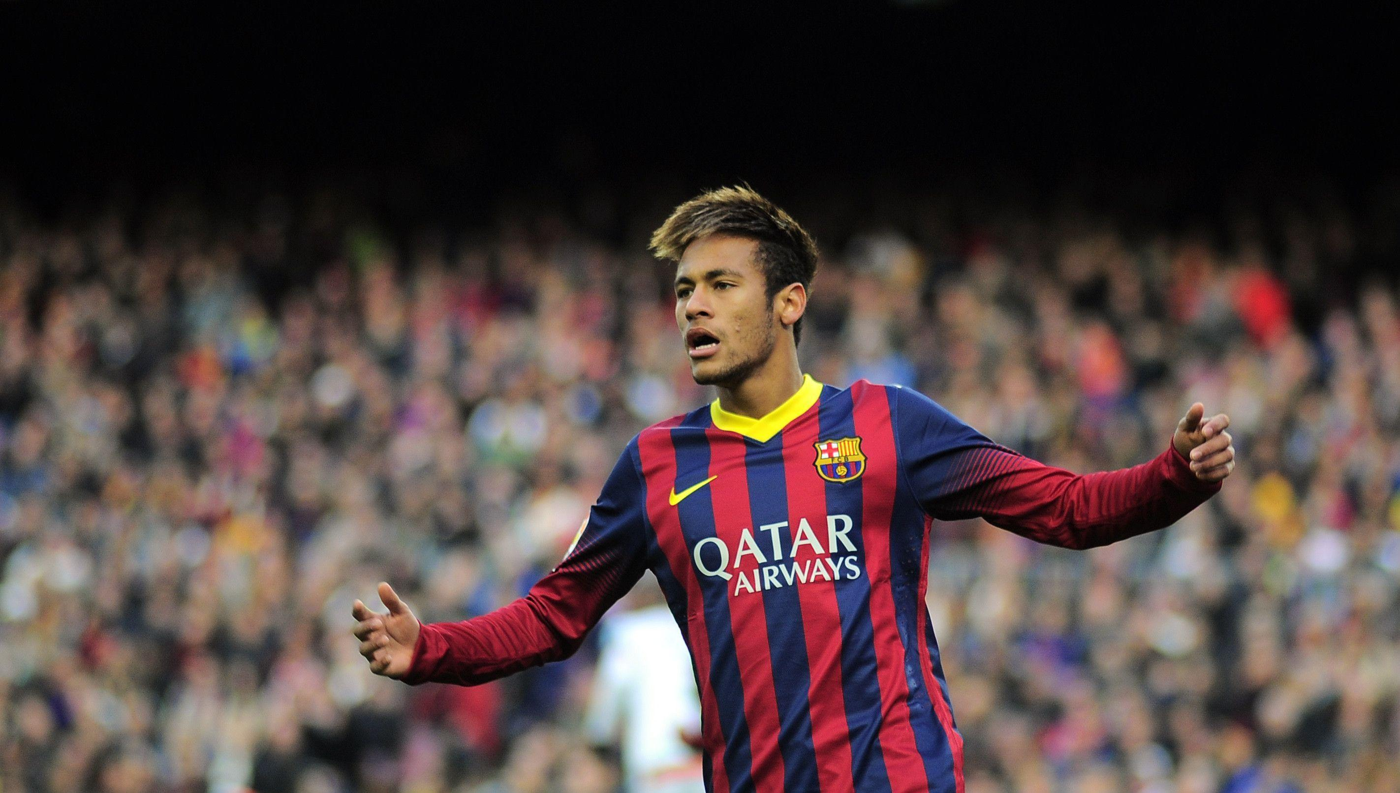 Neymar Barcelona on Action HD Wallpapers