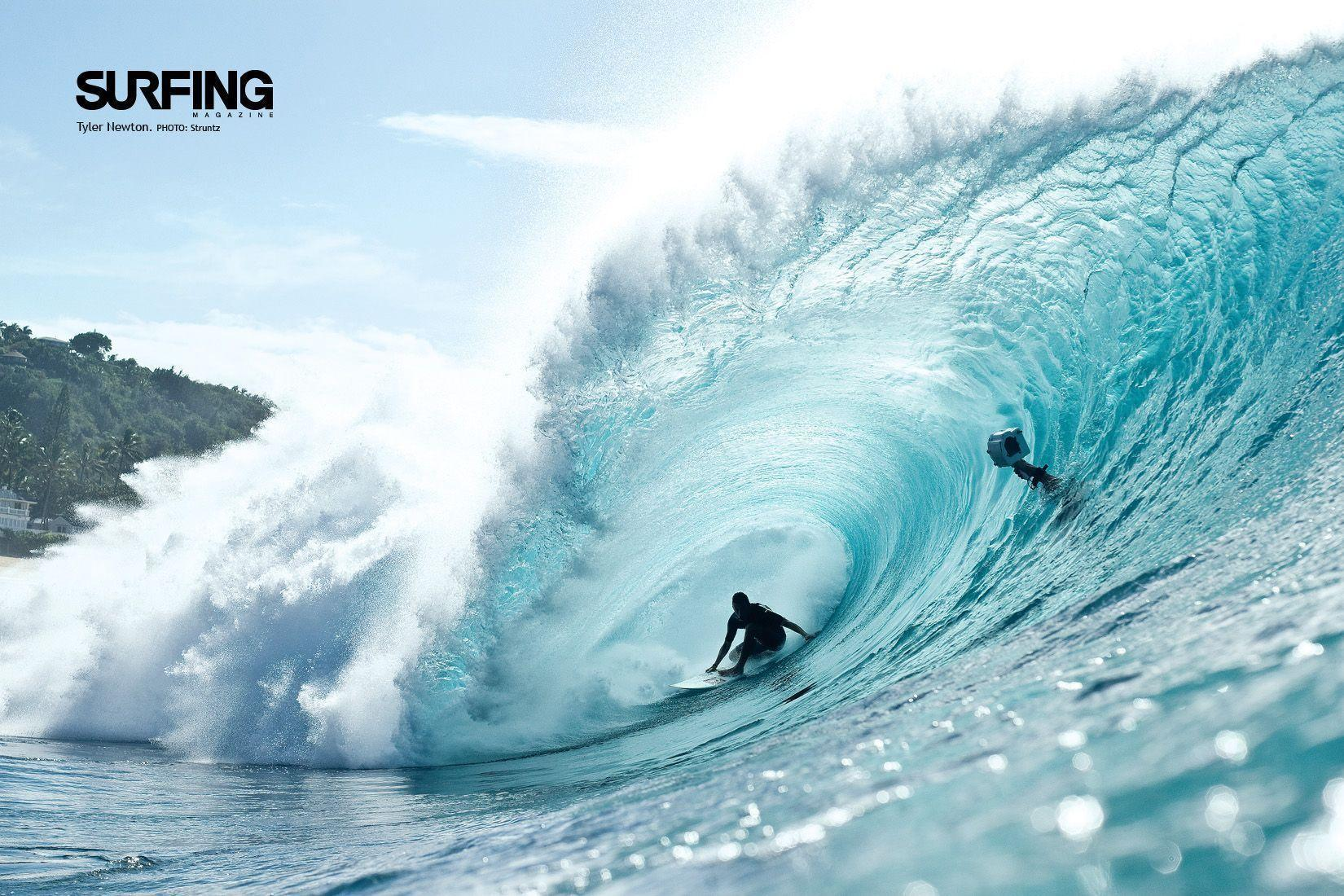 波 ビーチ海 ハワイ 南国風 夏 テーマ Pcデスクトップ壁紙 素材
