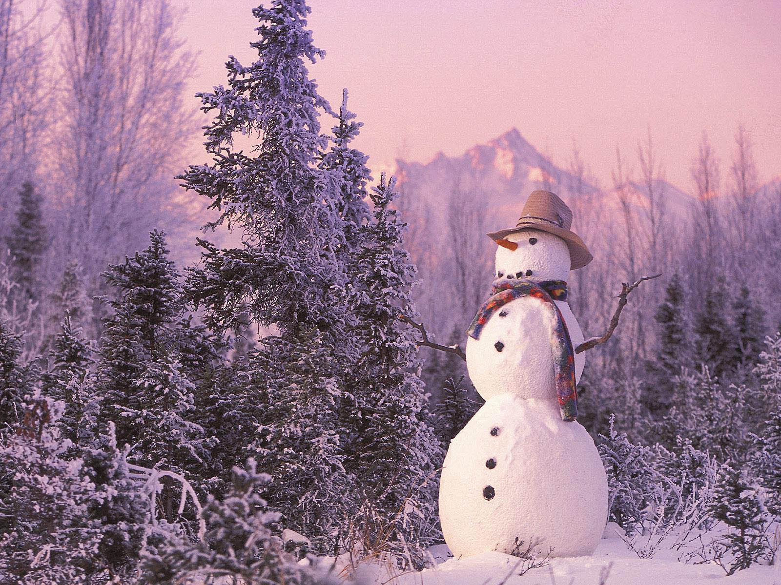 free snowman desktop wallpaper coolstyle wallpapers