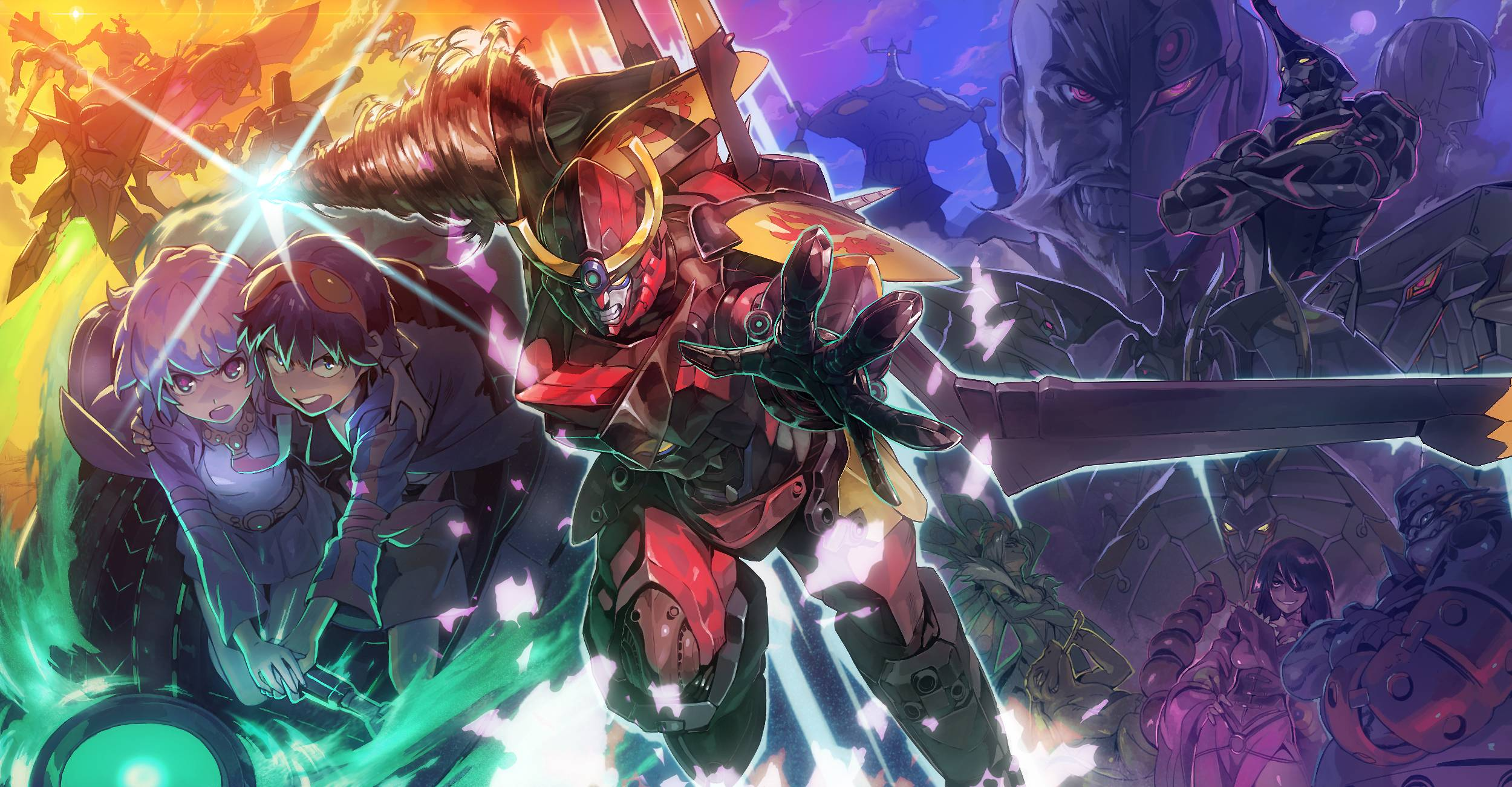 Gurren lagann backgrounds wallpaper cave - Gurren lagann wallpaper ...