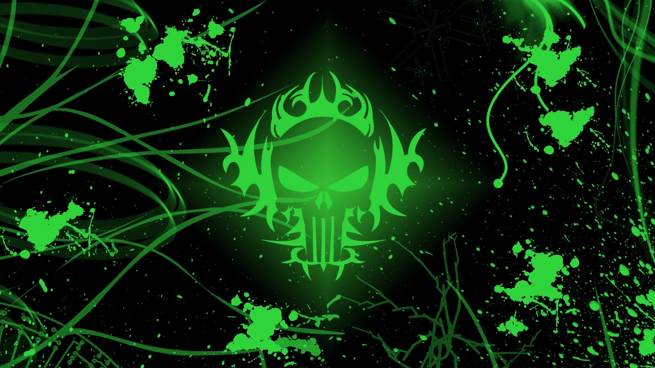 Green Skull Wallpapers - Wallpaper Cave