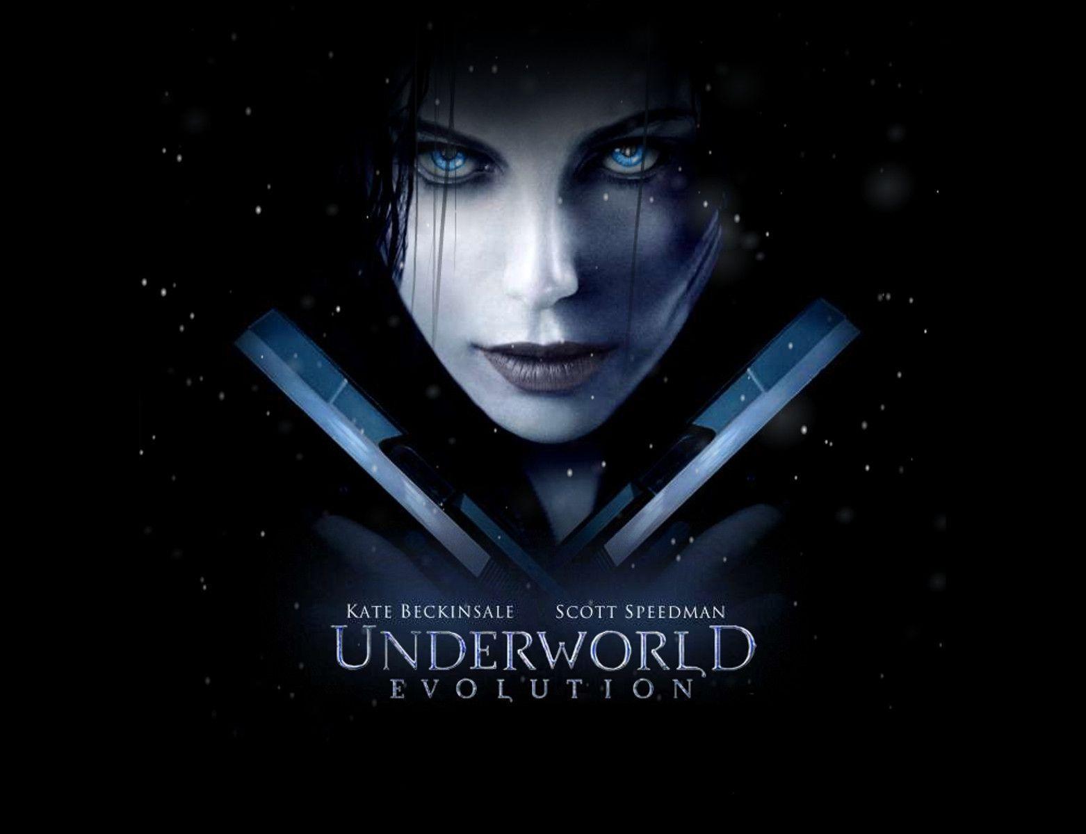 Kate Beckinsale Underw... Underworld Evolution Wallpaper
