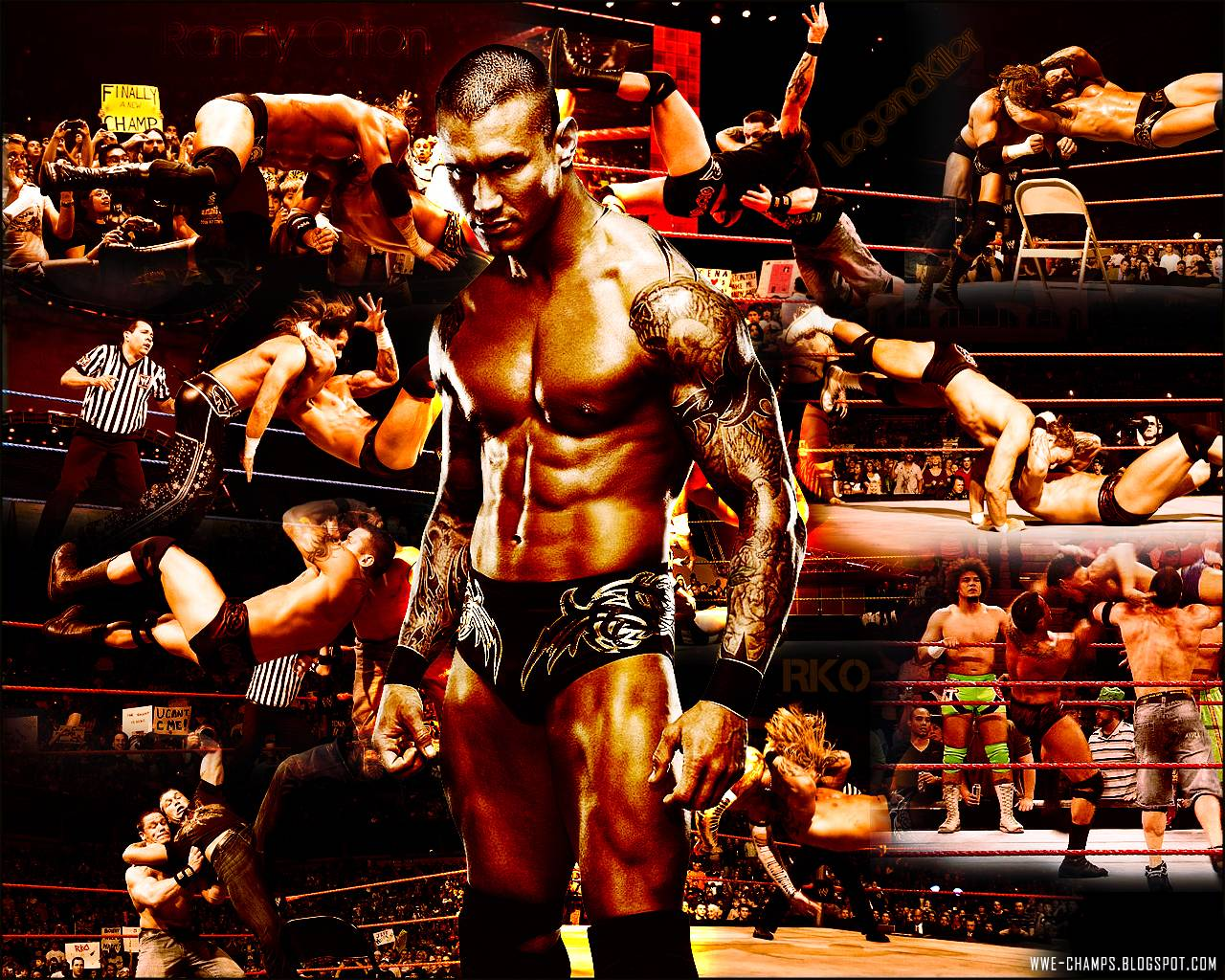 Randy Orton Rko Wallpapers Wallpaper Cave