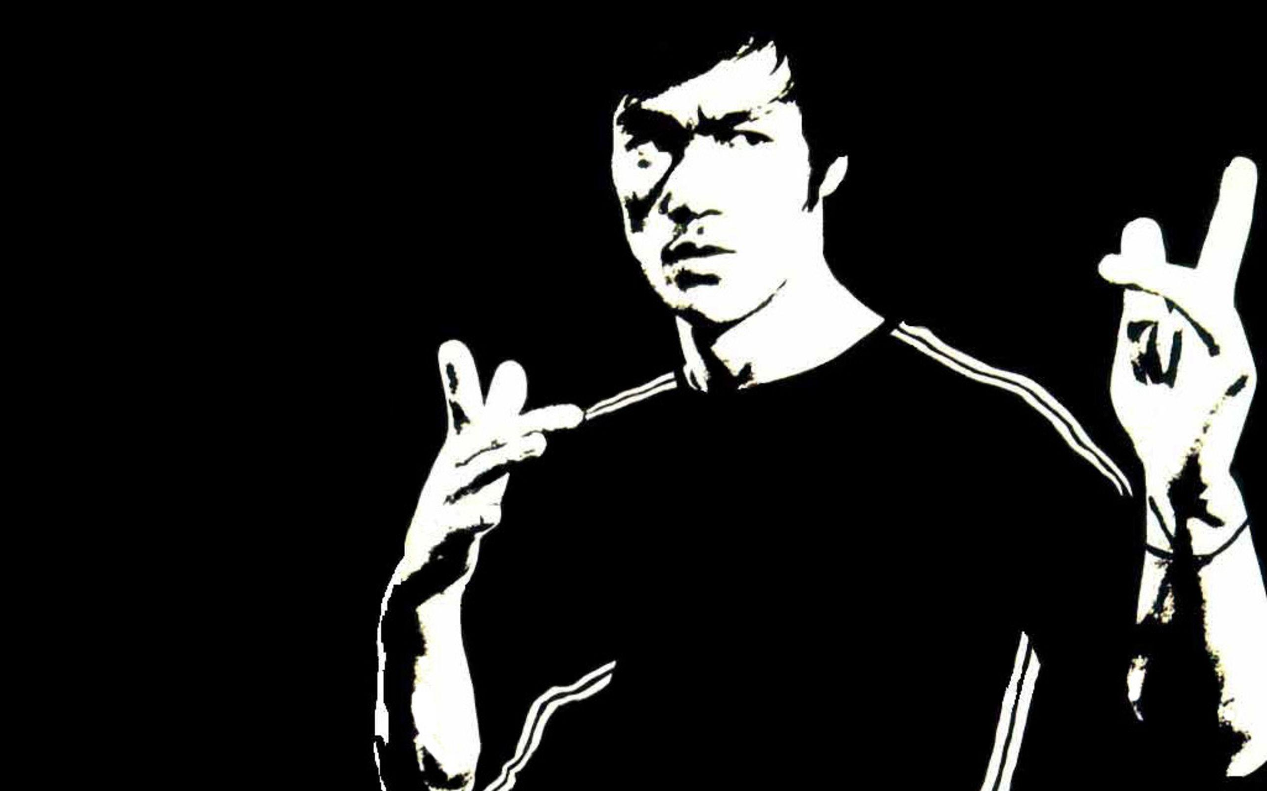 40 bruce lee hd wallpapers black