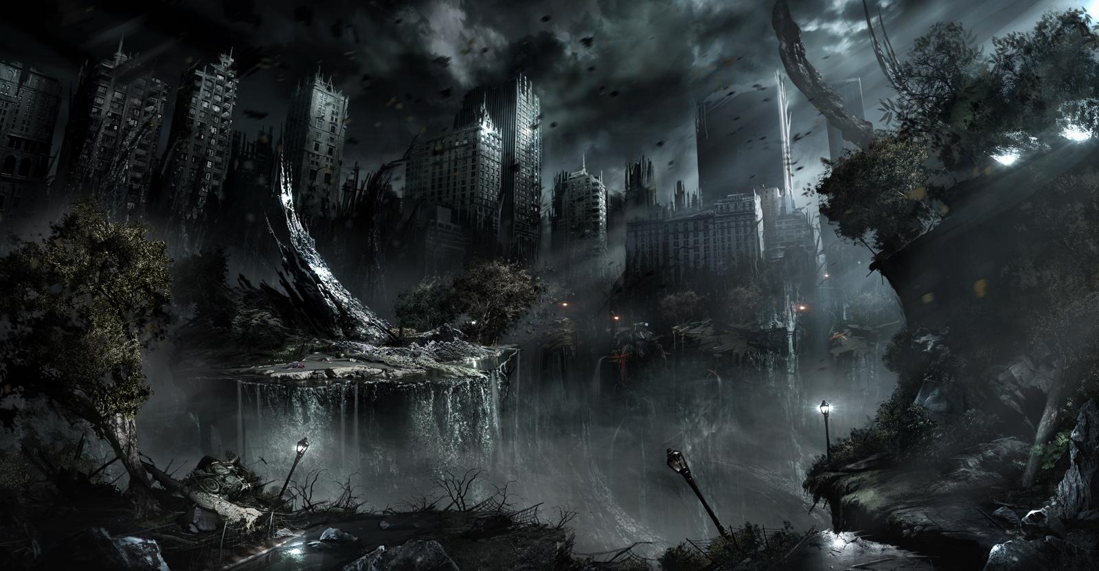 apocalyptic city wallpaper - photo #12