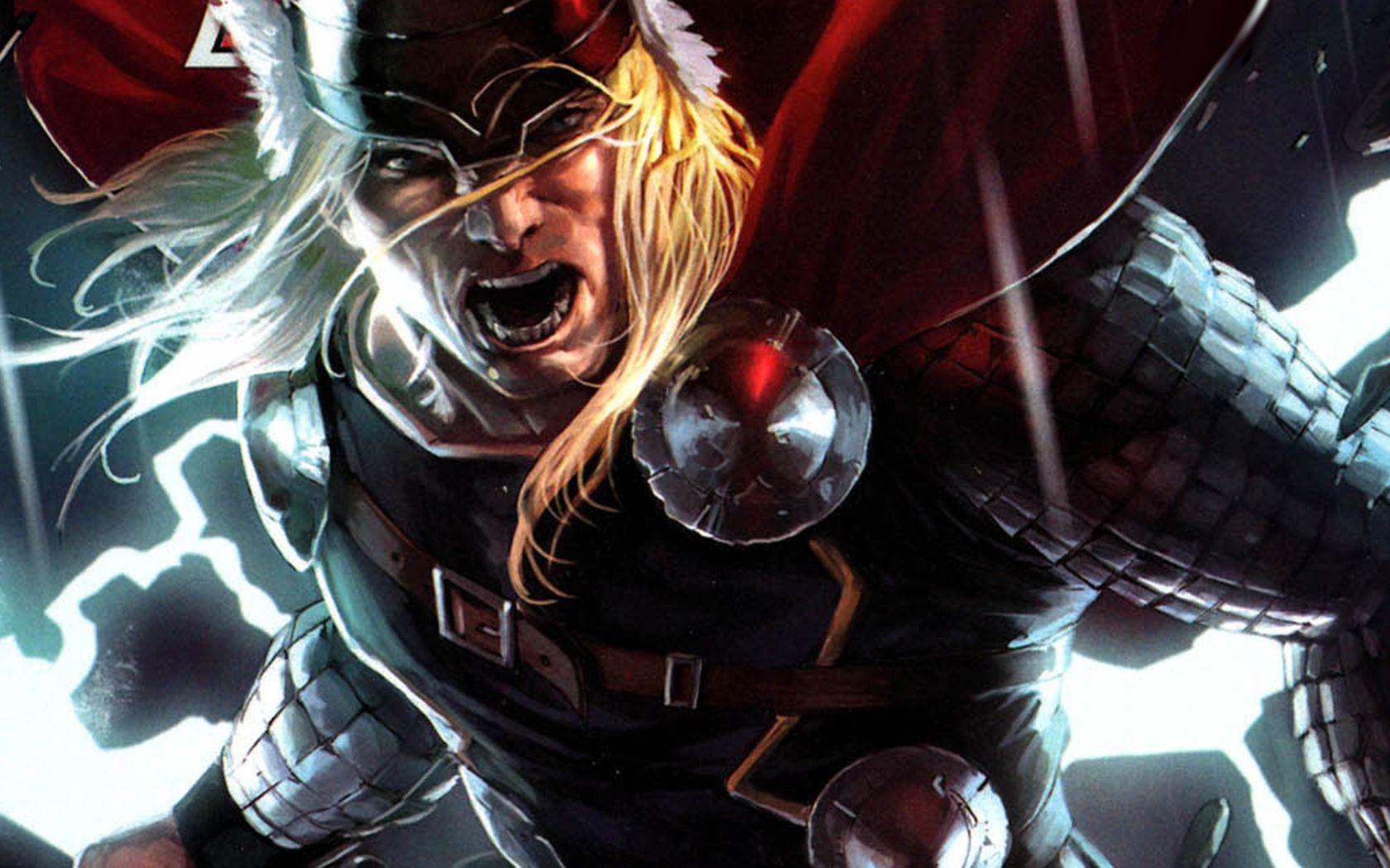 Fantastic Thor Wallpaper Art - GeekShizzle   GeekShizzle