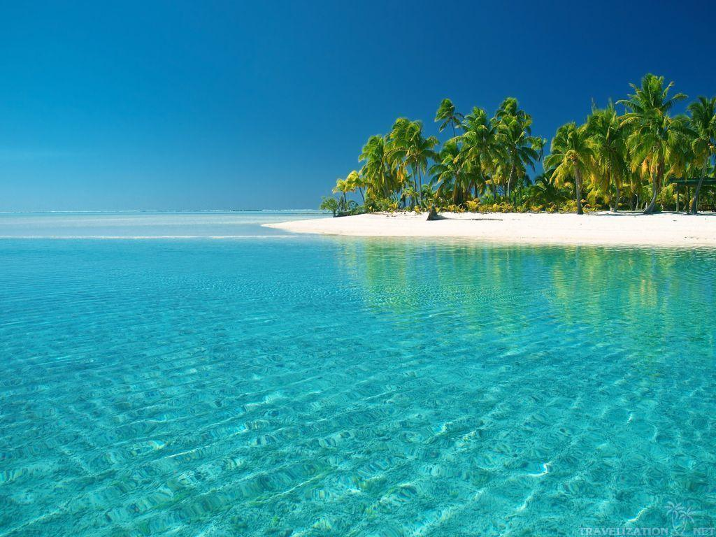 Download Eclusive Blue Sea Beach Wallpaper