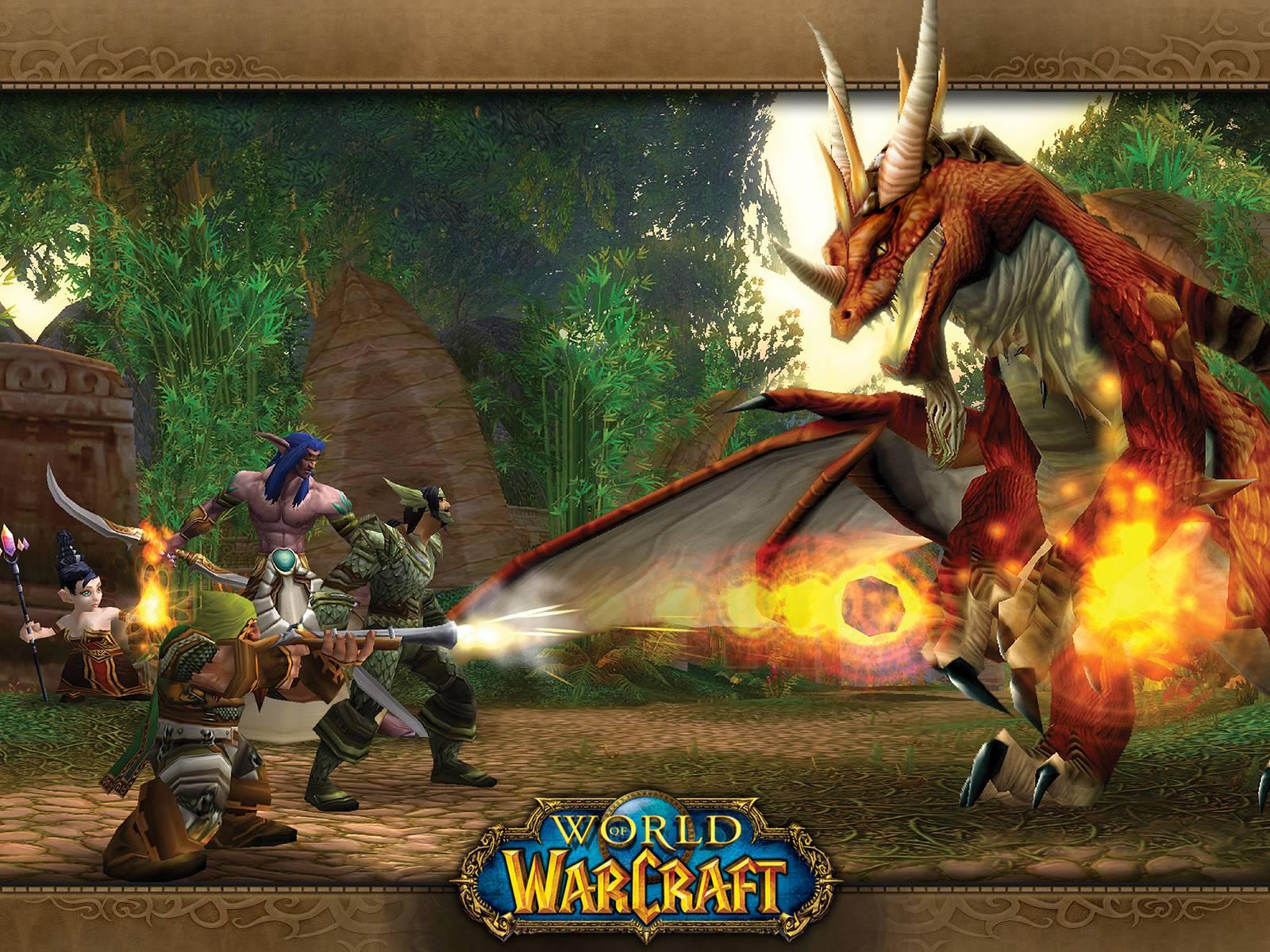 Wallpaper Backgrounds: World Warcraft - Games