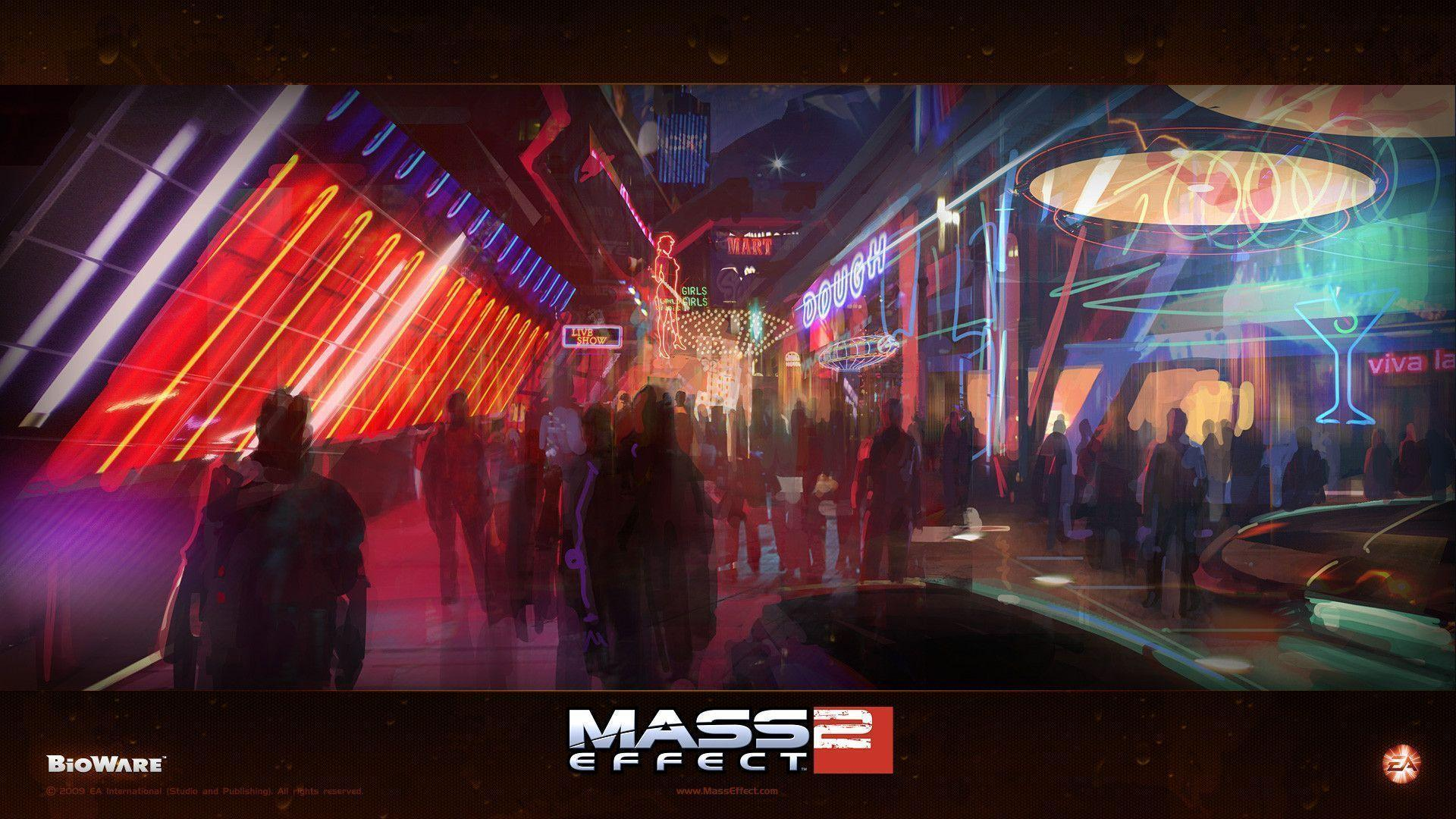 Mass Effect 2 Concept Art wallpapers