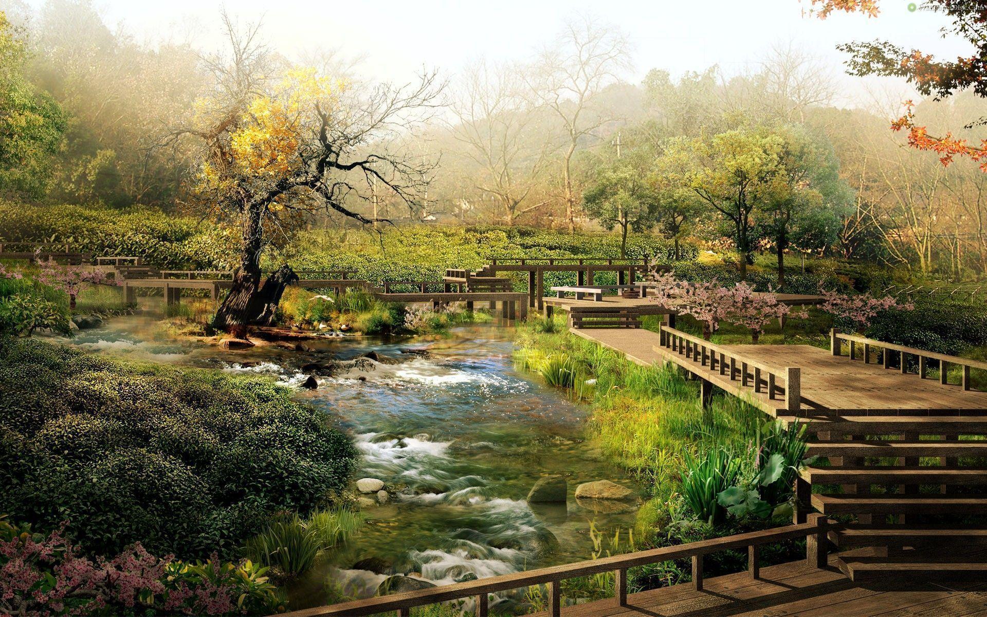 Wallpapers For Zen Garden Wallpaper