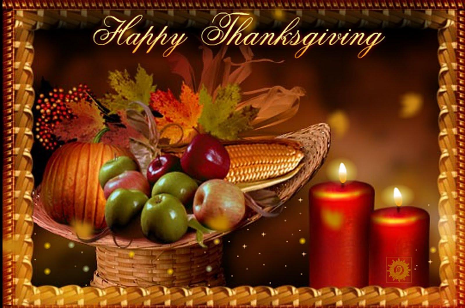 Happy thanksgiving day 3d wallpapers