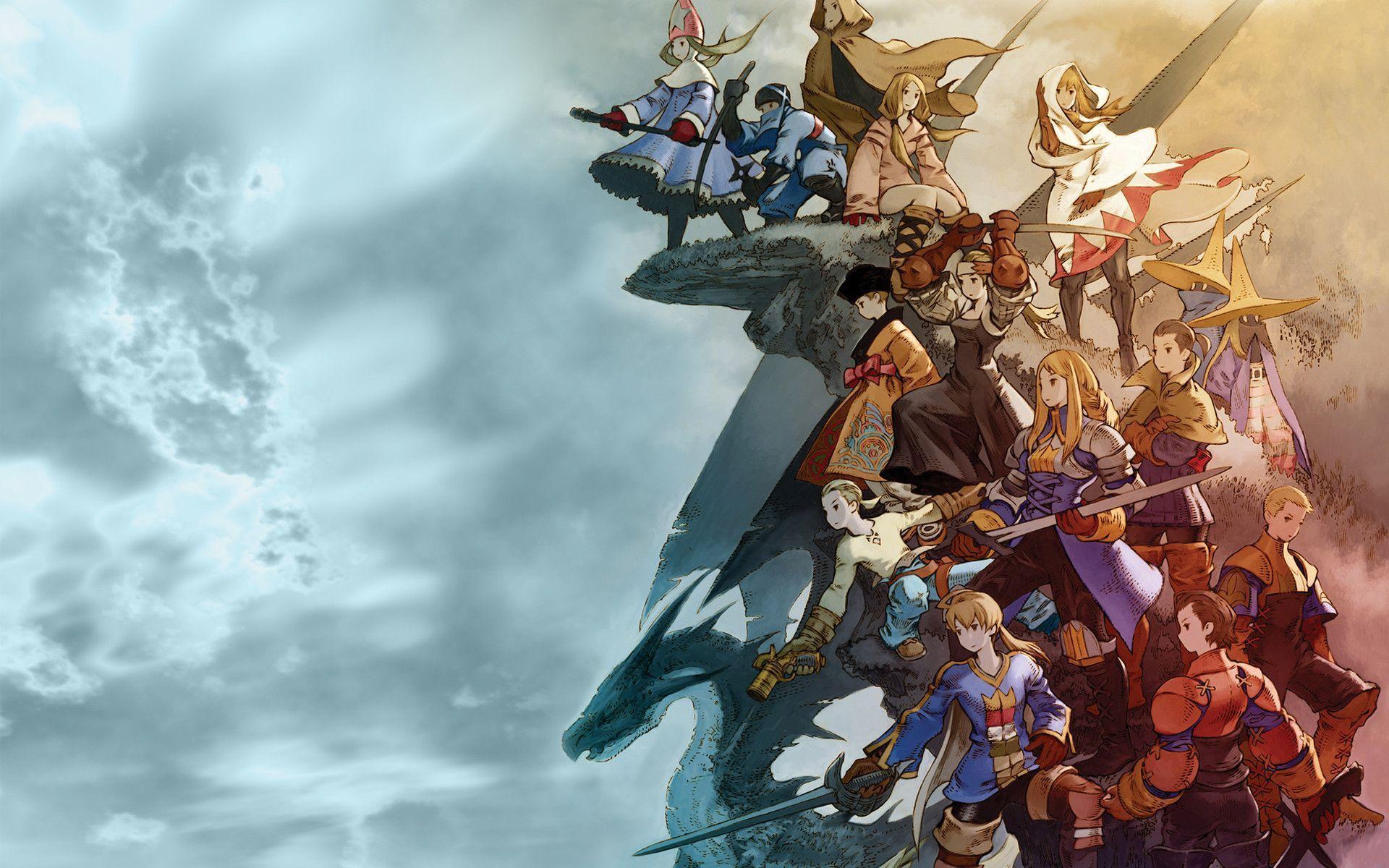 Final Fantasy Tactics - Desktop Wallpapers