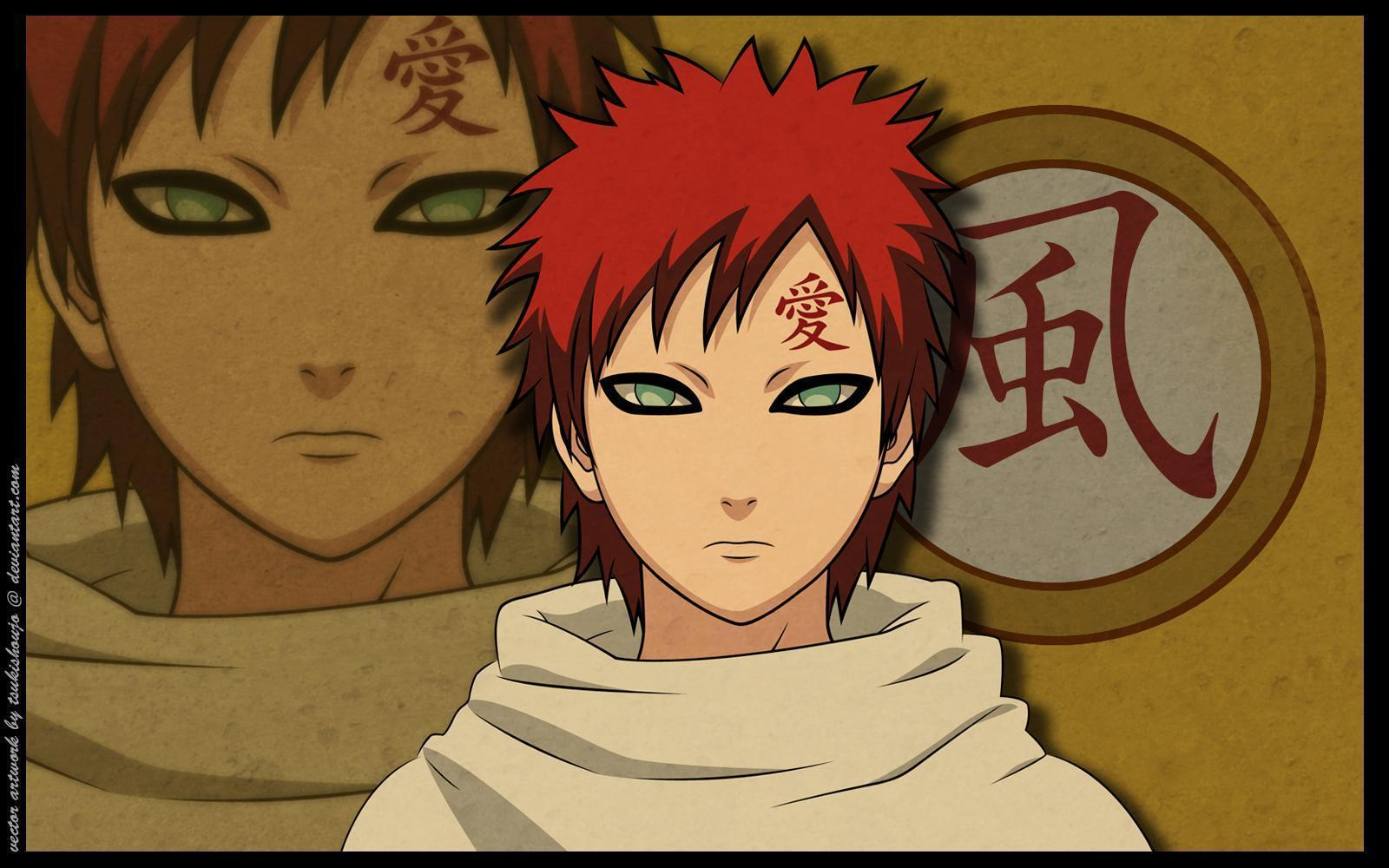 naruto and gaara wallpaper - photo #3