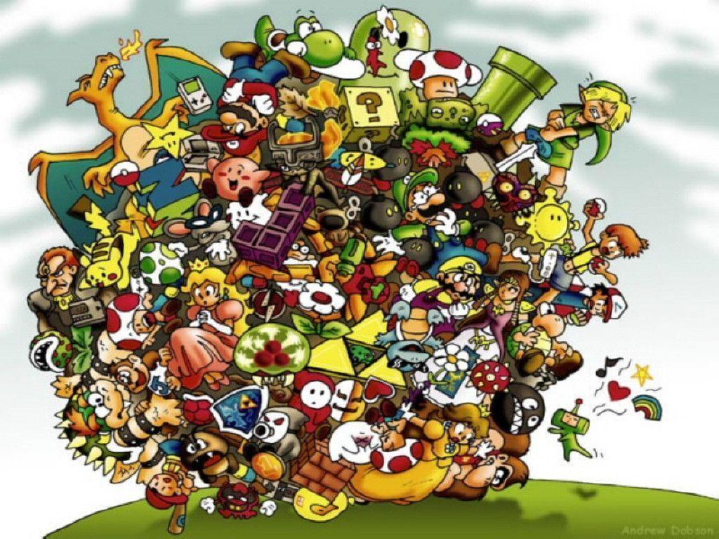 Nintendo Characters Wallpaper | Nintendo Wallpapers