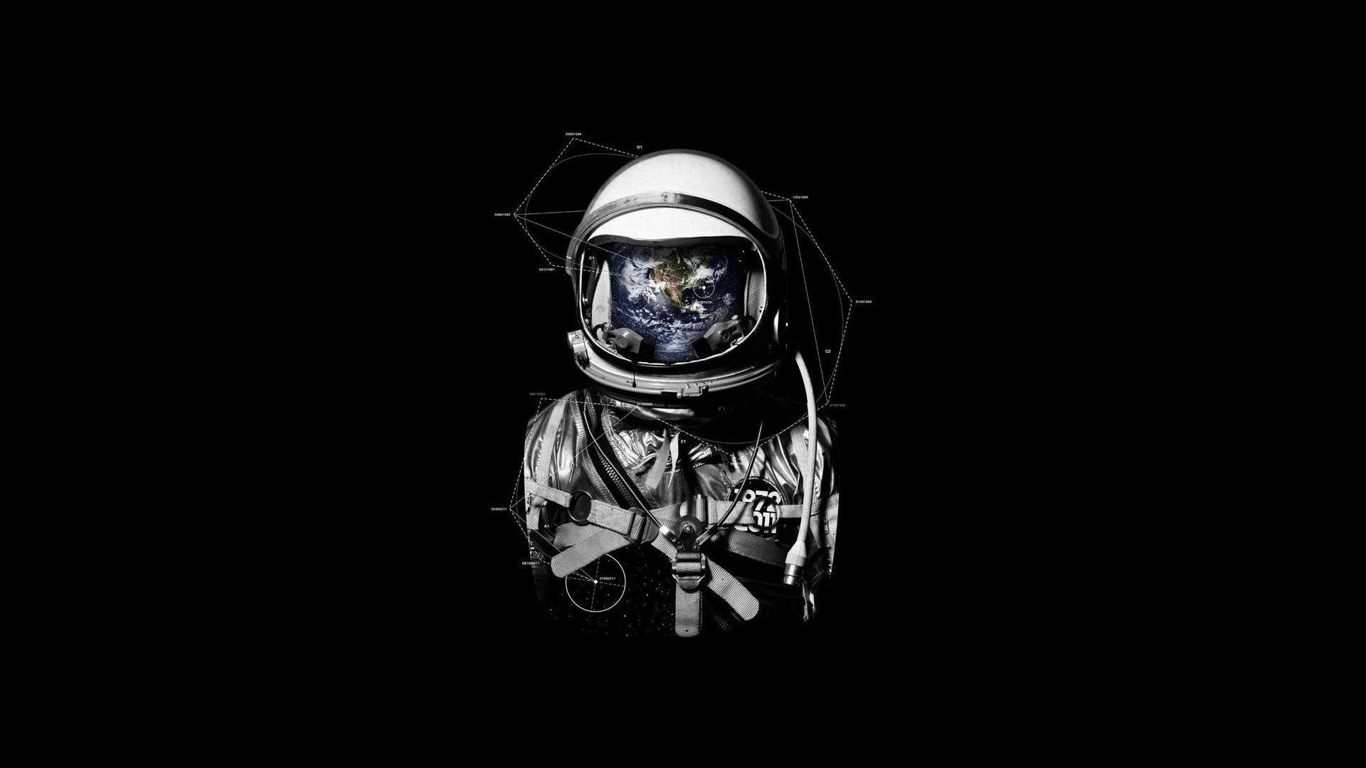 astronaut in space tumblr wallpaper - photo #19