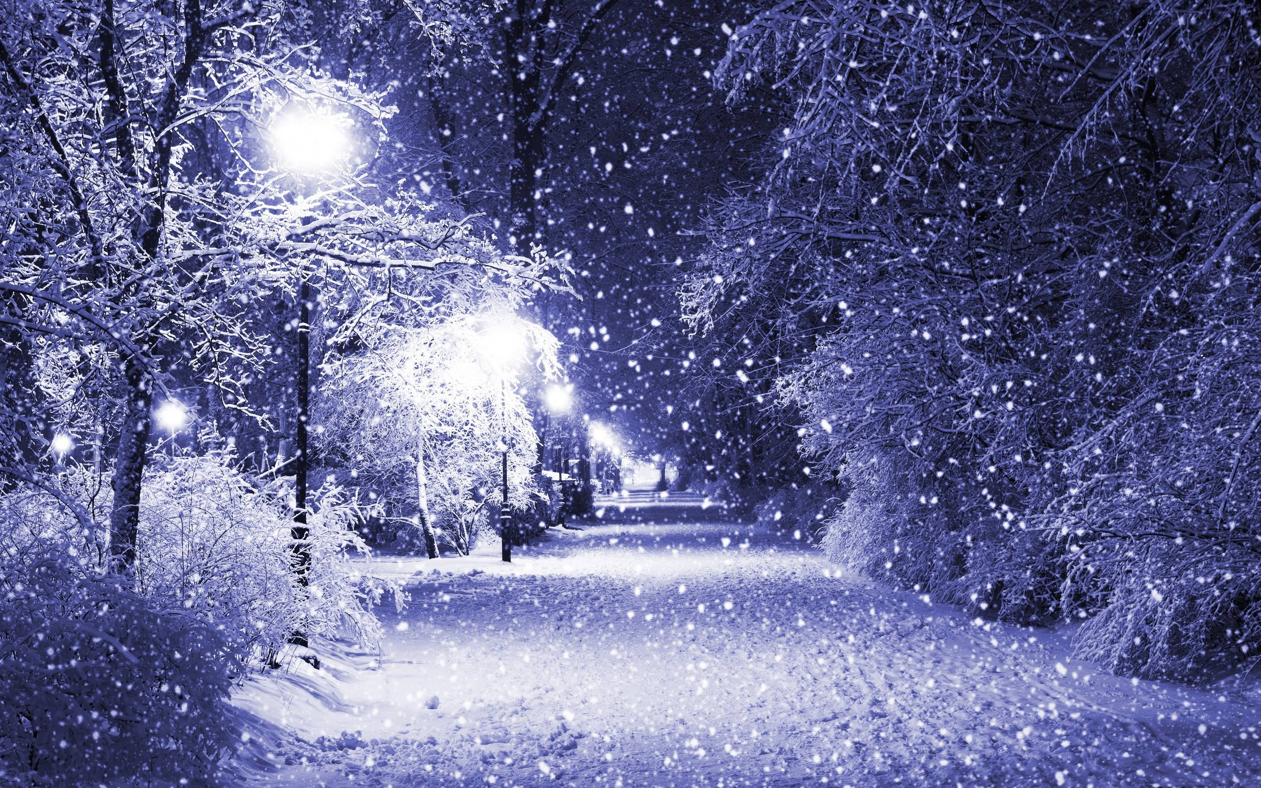 Pretty Winter Backgrounds Design Ideas Alley At Night