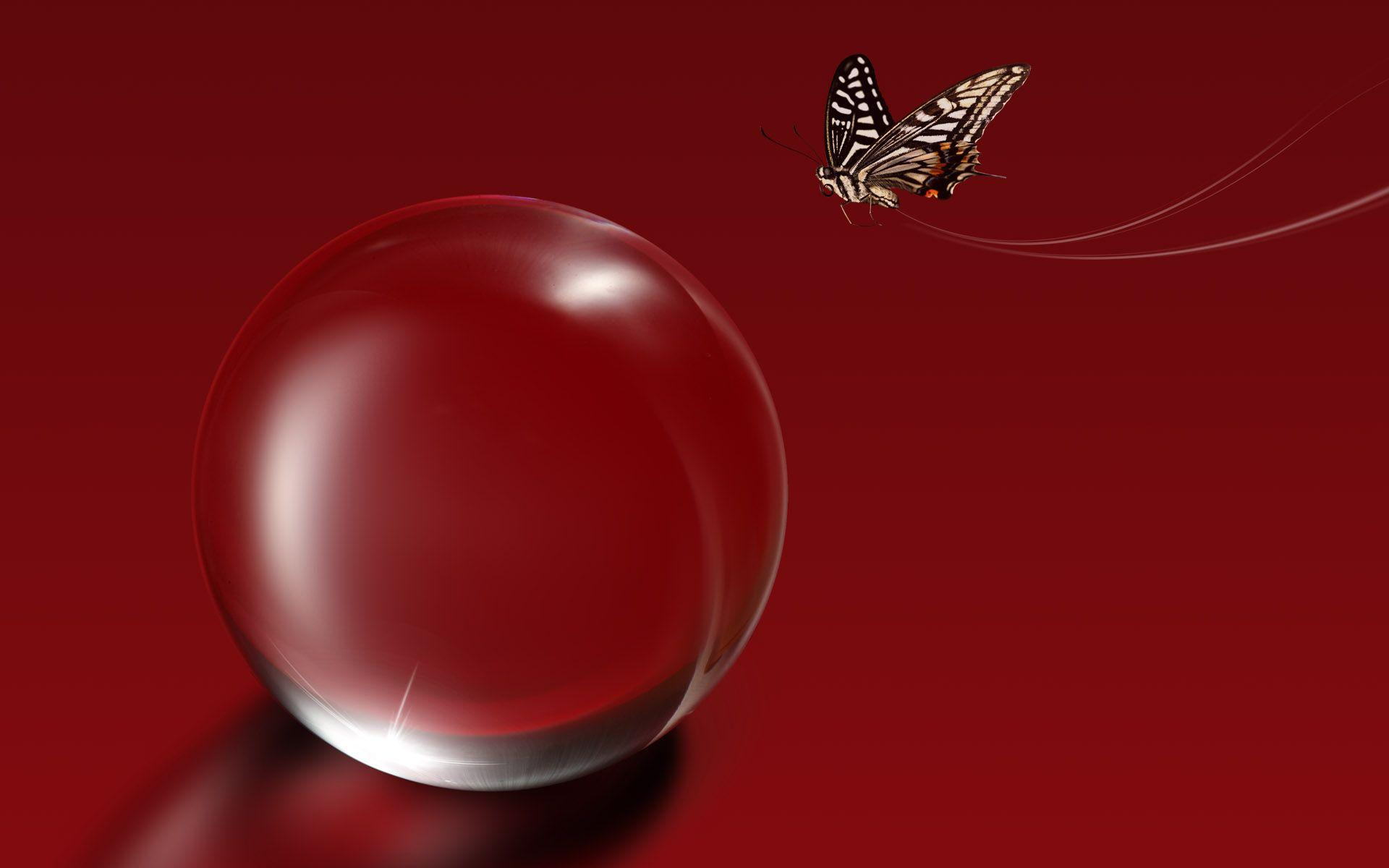 red butterfly wallpapers - photo #18