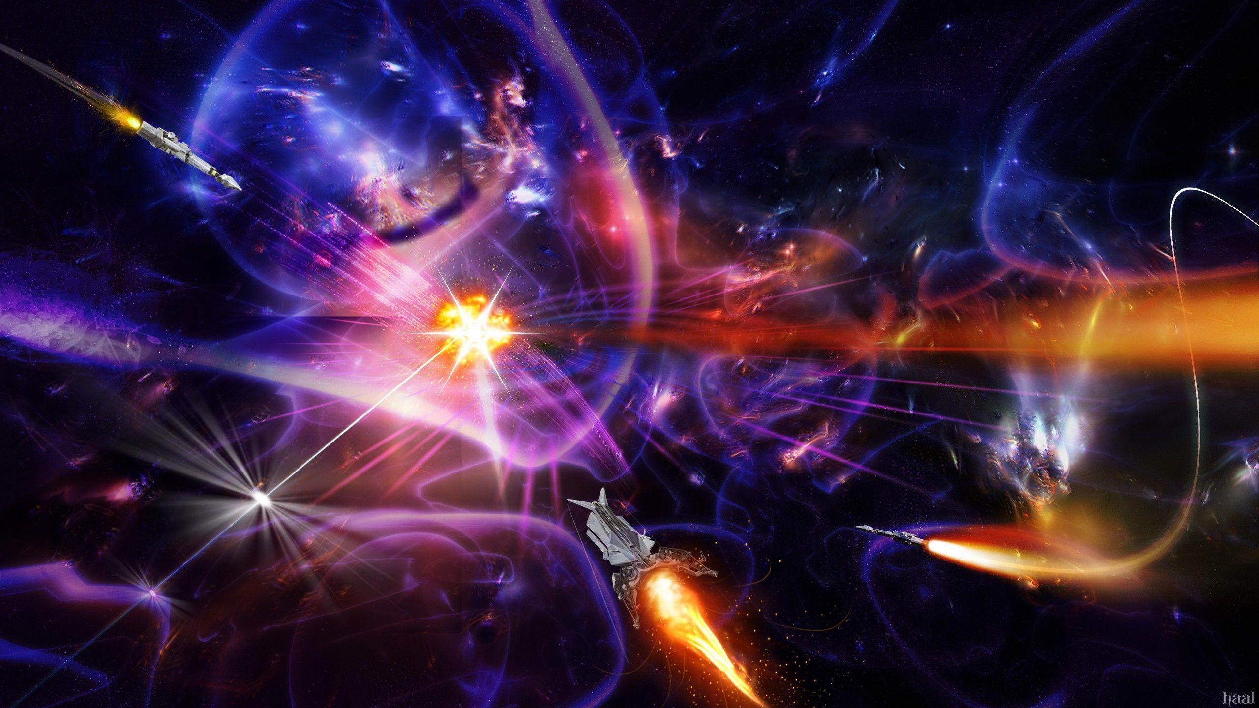 Spaceship wallpaper - 1052998