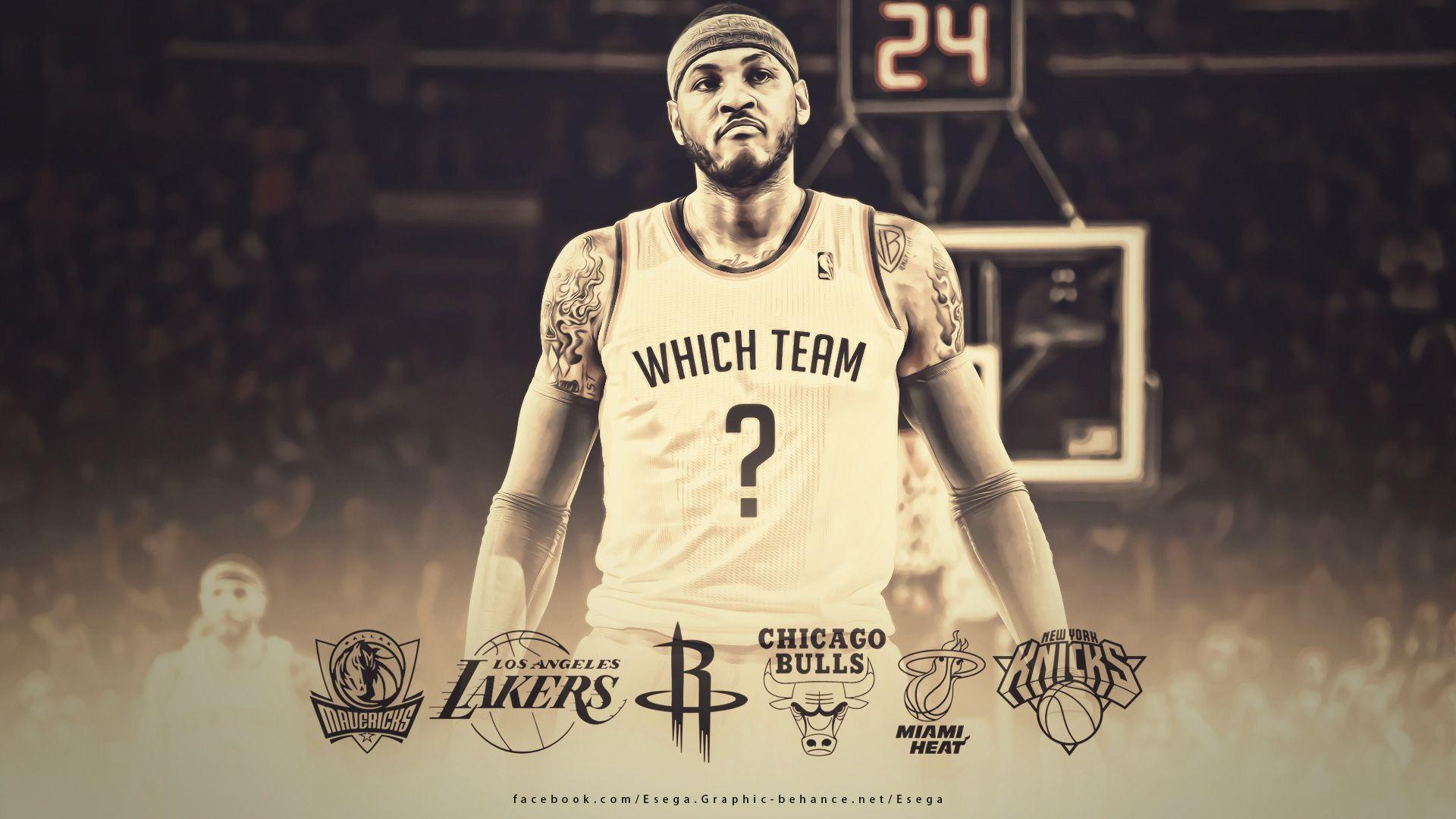 Carmelo Anthony 2014 Free Agency Wallpapers