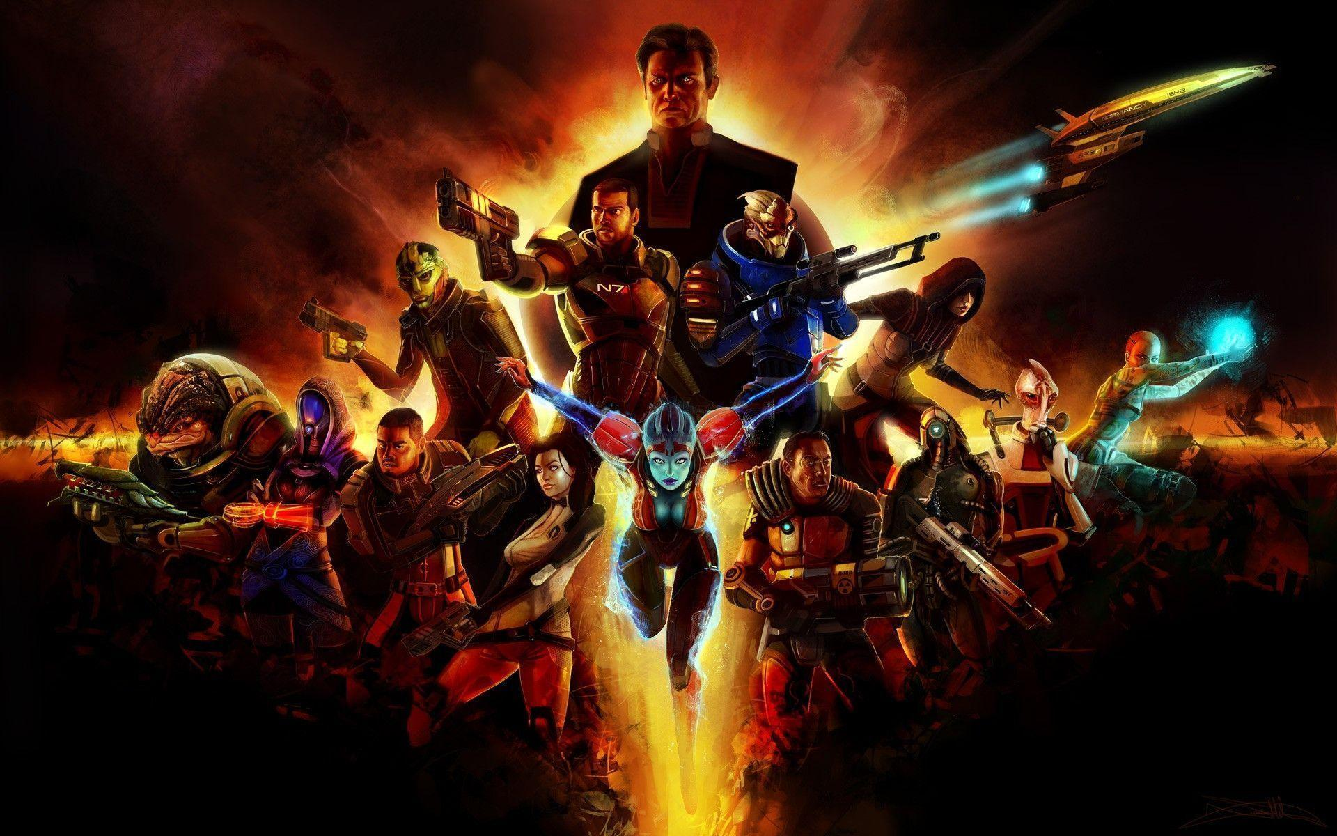 Mass Effect 2 Wallpapers For Android