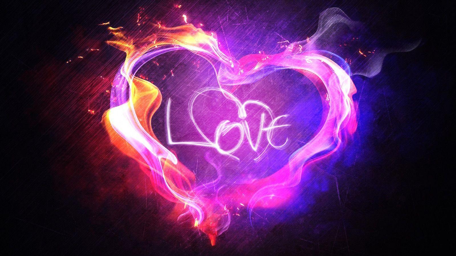 Heart In Love Wallpaper Hd: Love Heart Wallpapers HD