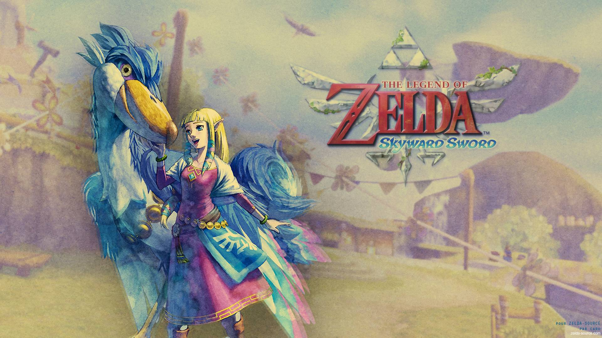 Wallpapers For Zelda Skyward Sword Wallpaper 1920x1080